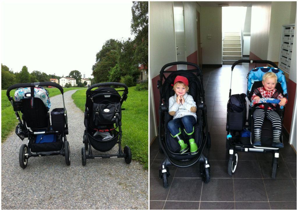 Körkänslan i Baby Jogger City Versa GT