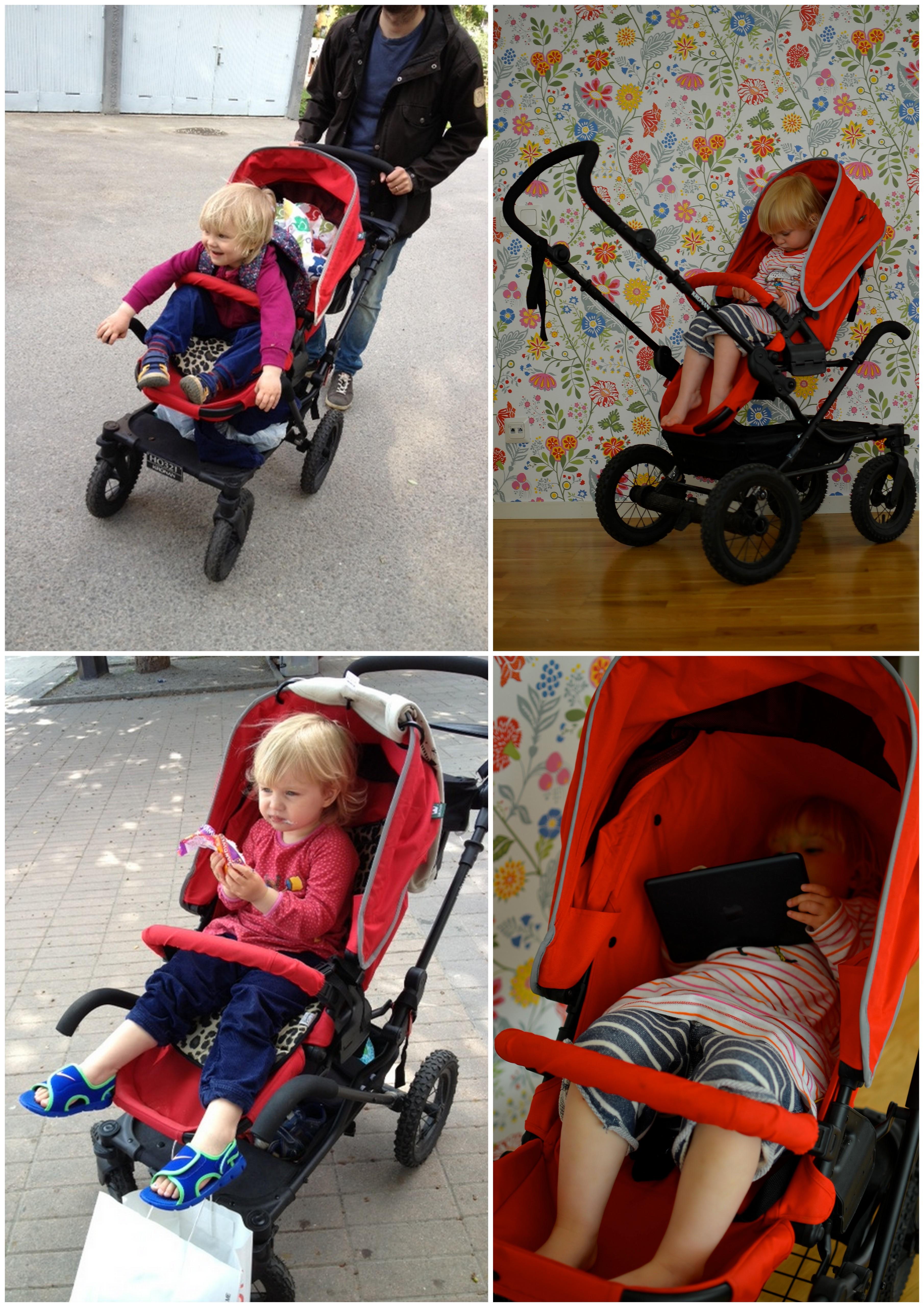 Så sitter en tvååring i Kronan Duo/S