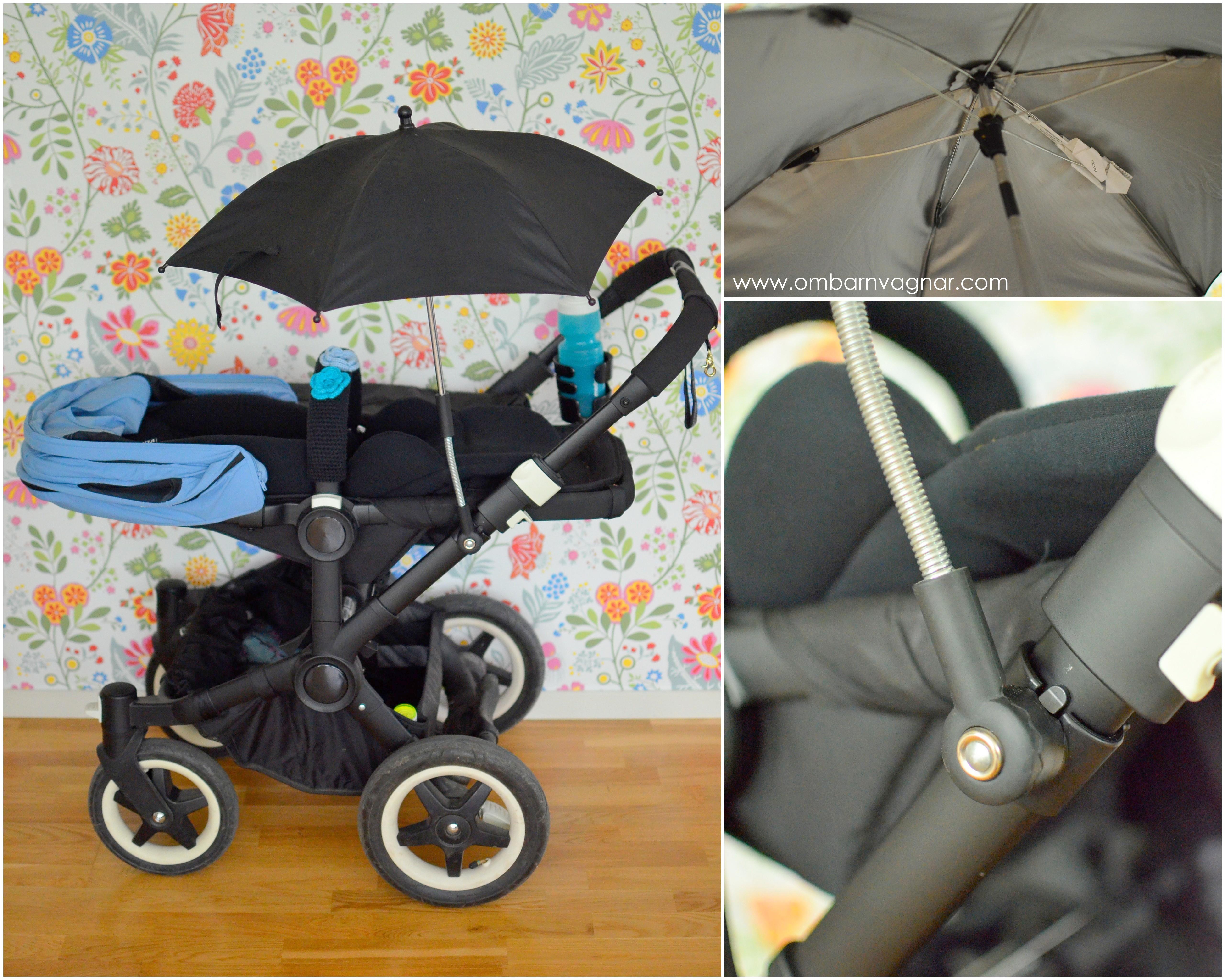 Är det nödvändig att ha parasoll på barnvagnen?