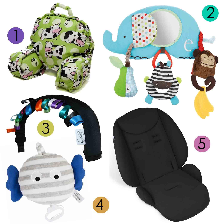 Produkter som får bebisen att gilla barnvagnen