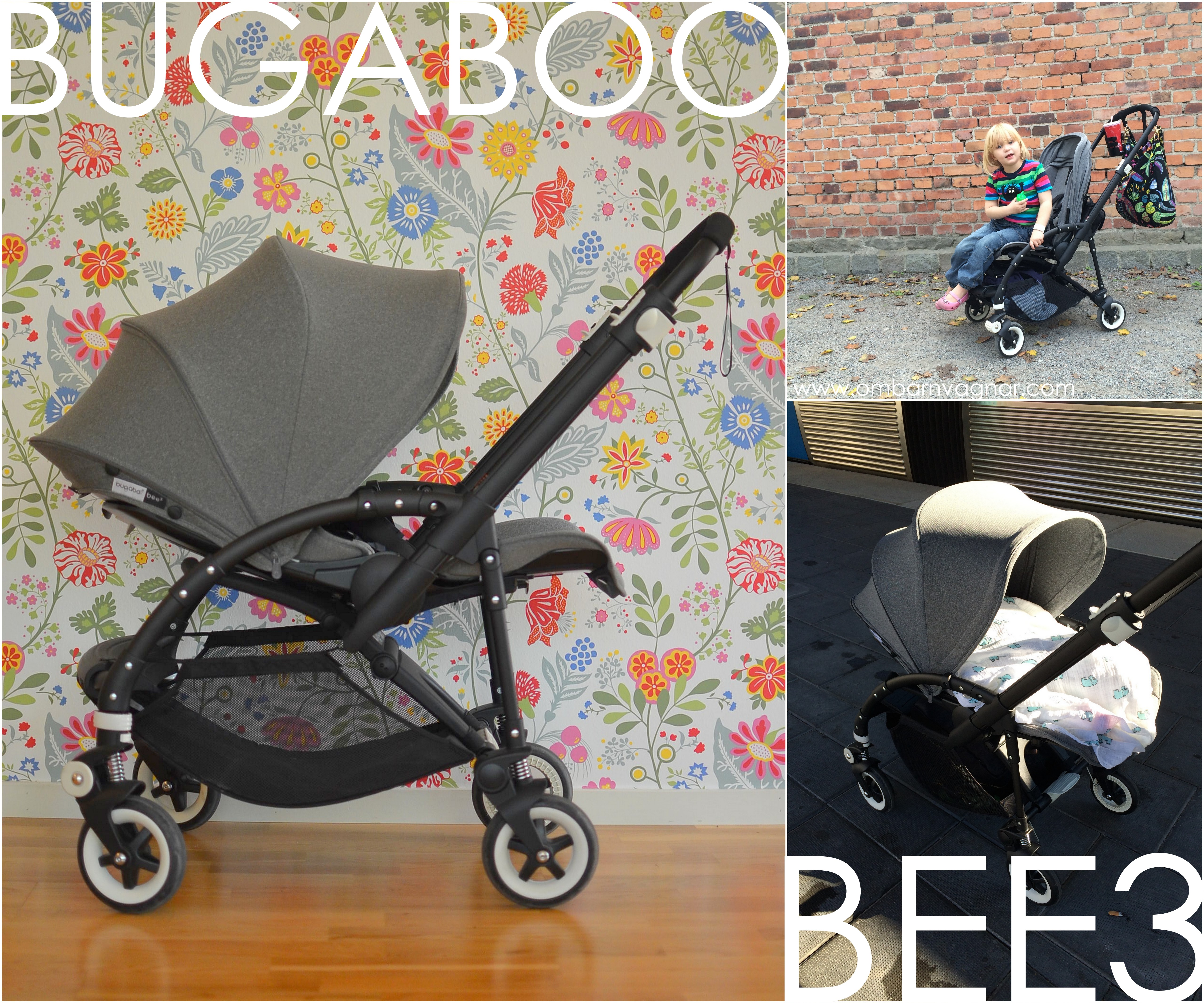 Bugaboo Bee3 recension av Bugaboos vändbara lilla sittvagn