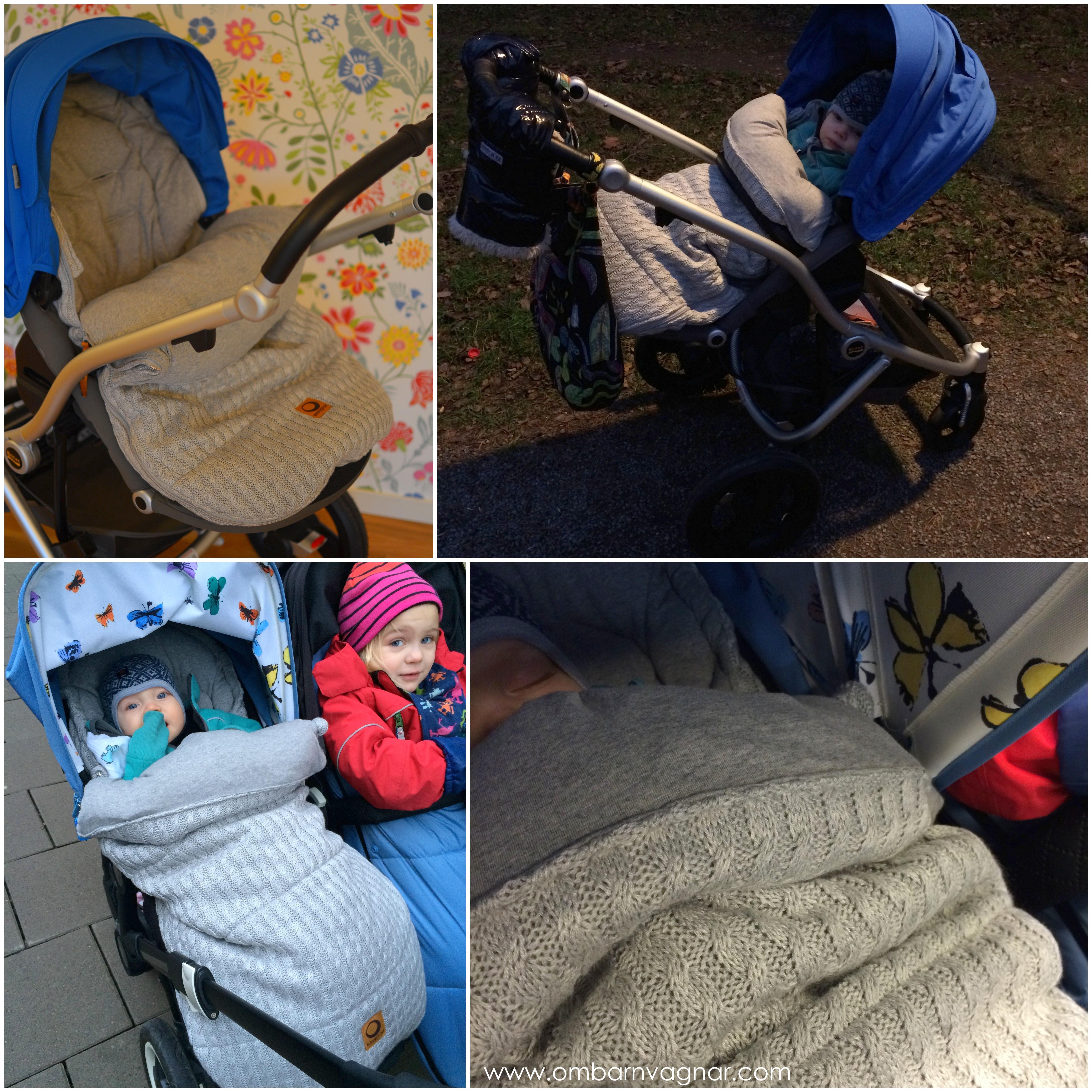 Easygrow Grandma åkpåse i barnvagnen