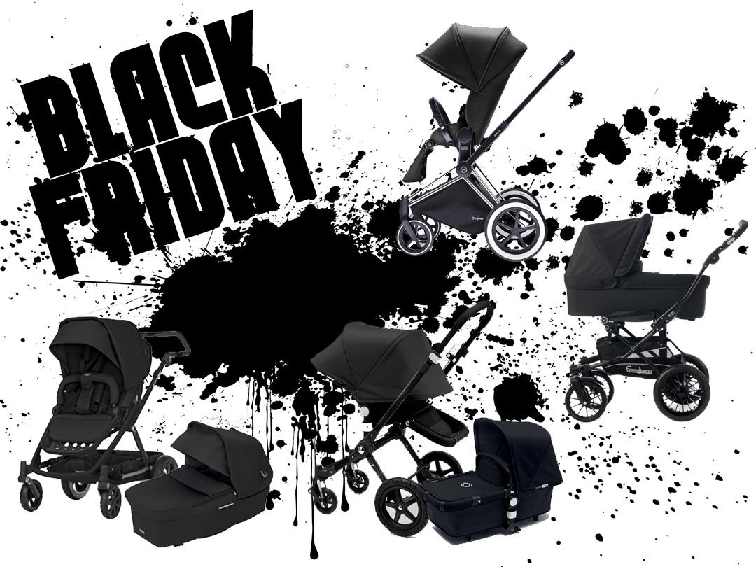 Här fyndar du barnvagnar och barnvagnstillbehör under Black Friday 2019