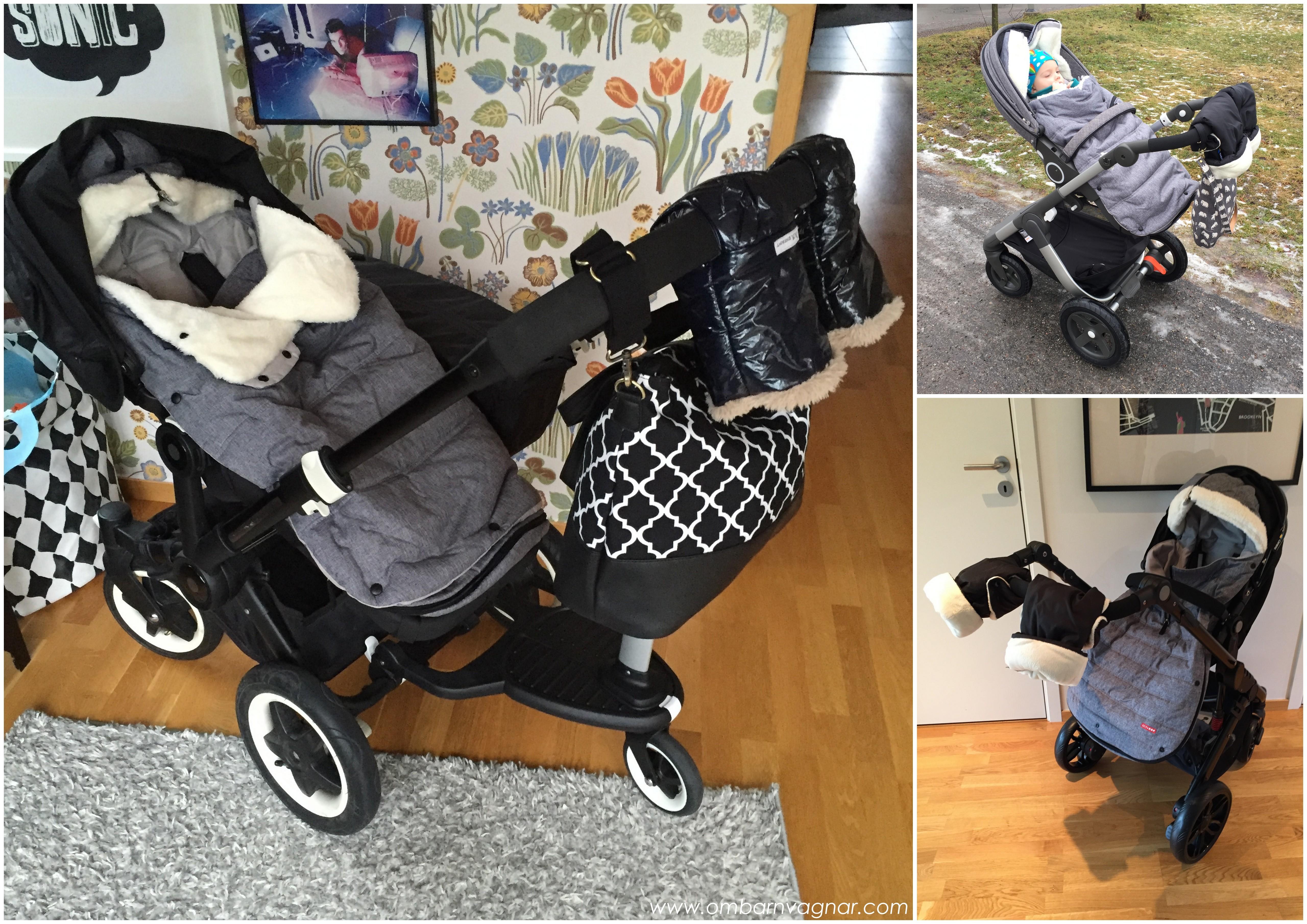 Så passar Skip Hop Åkpåse i barnvagnen