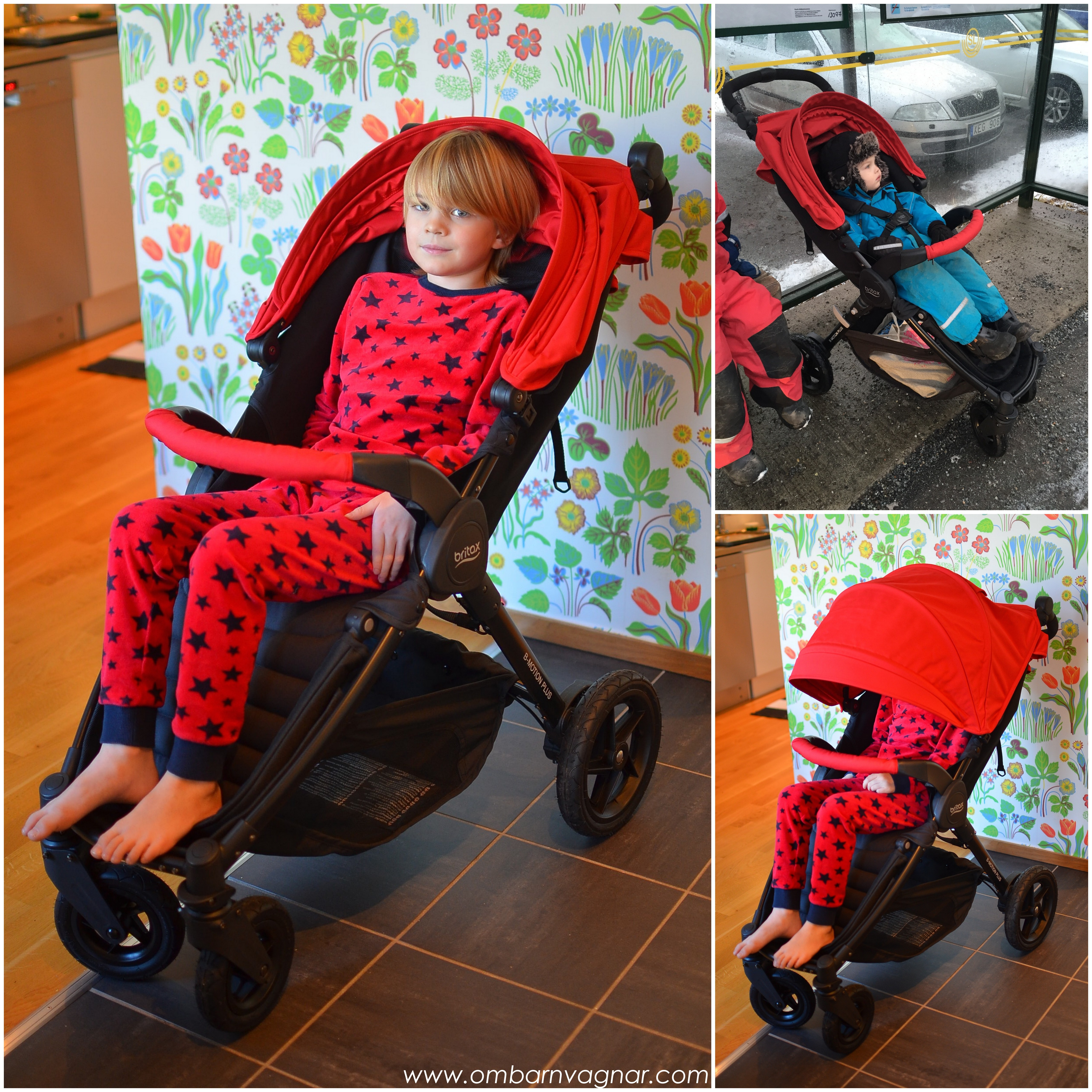 Britax B-Motion 4 Plus har en otroligt rymlig sittdel som rymmer stora barn