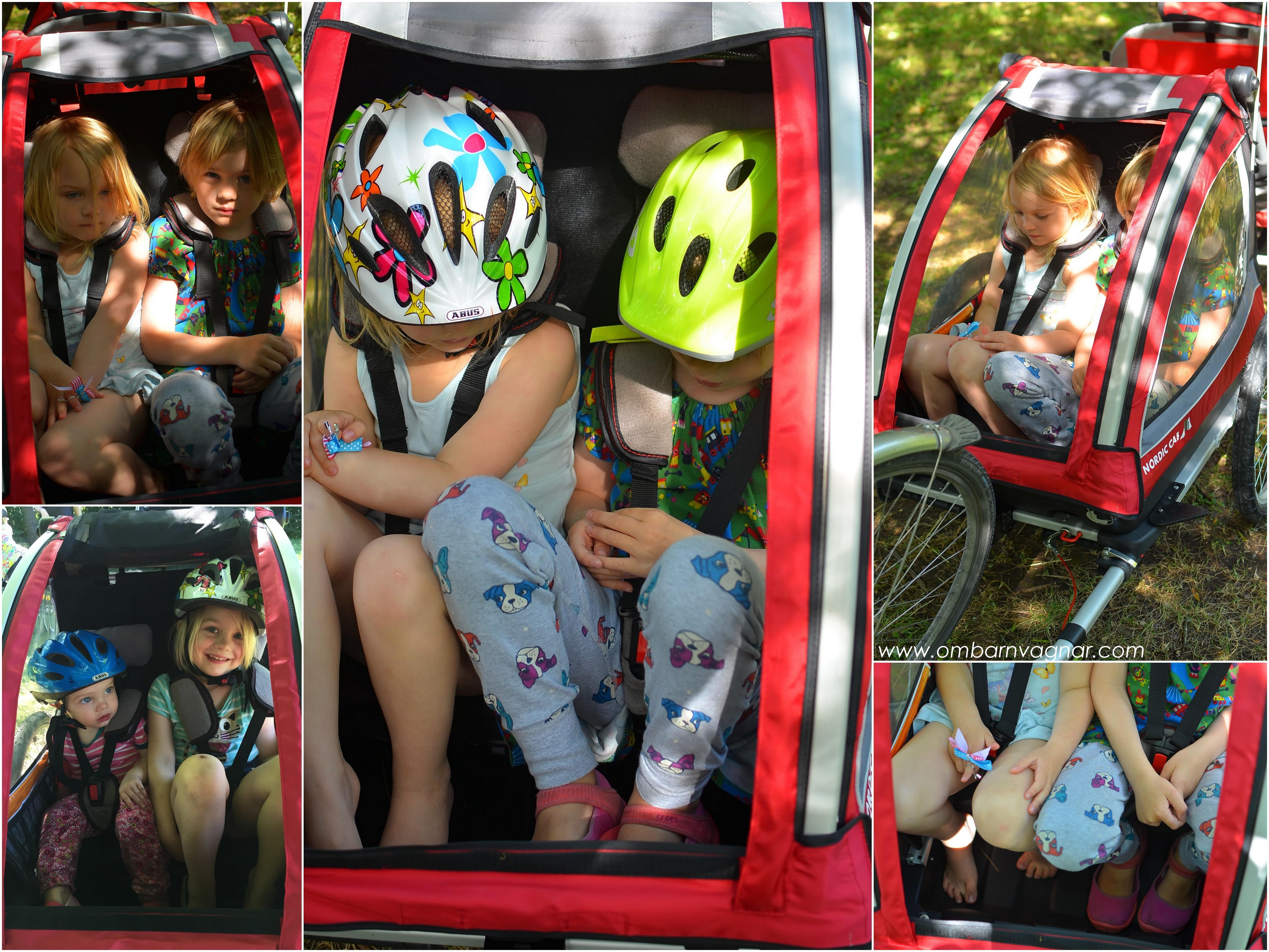 Så stora barn ryms i Nordic Cab Explorer
