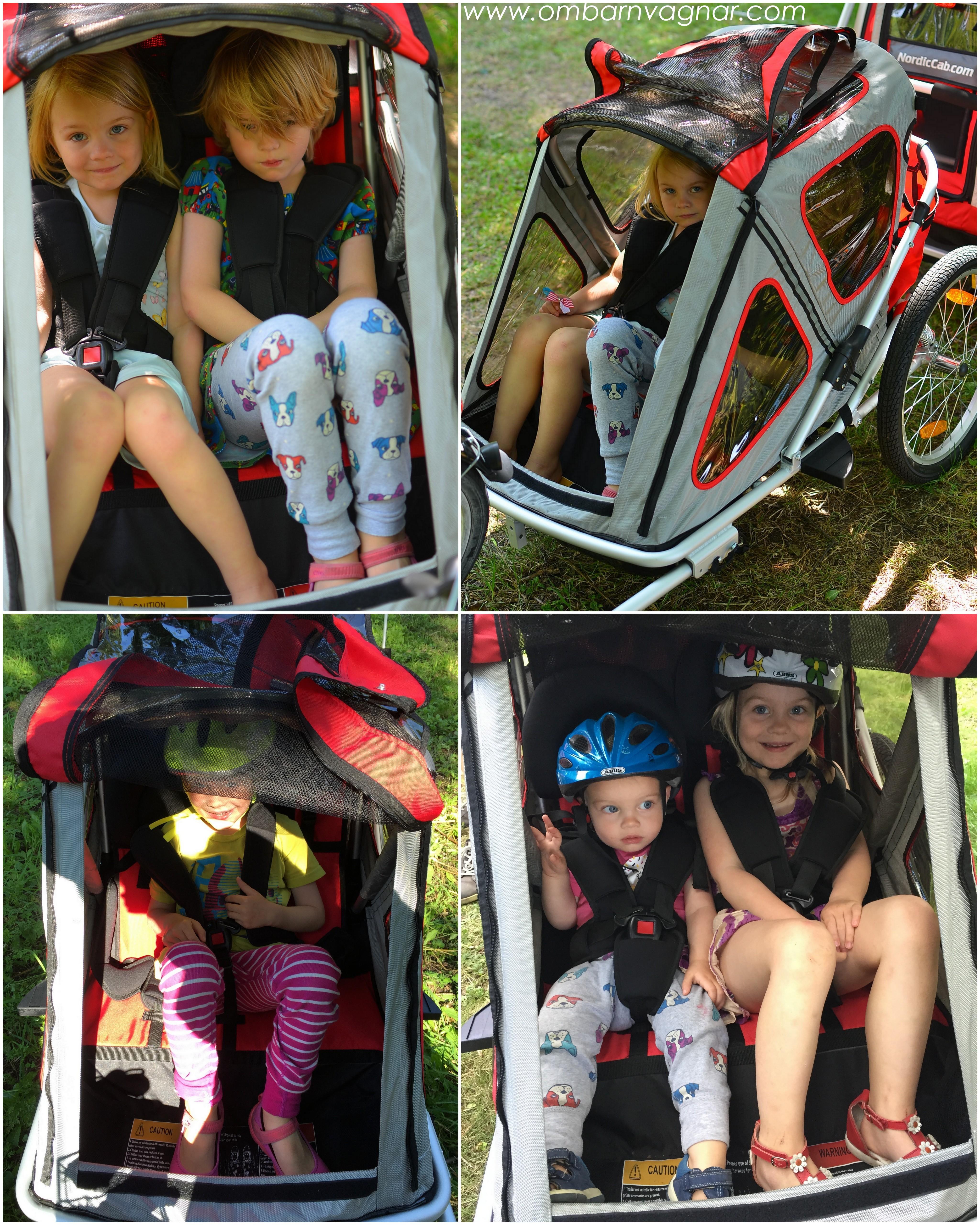 Hur stora barn ryms i North 13.5 Speeder cykelvagn