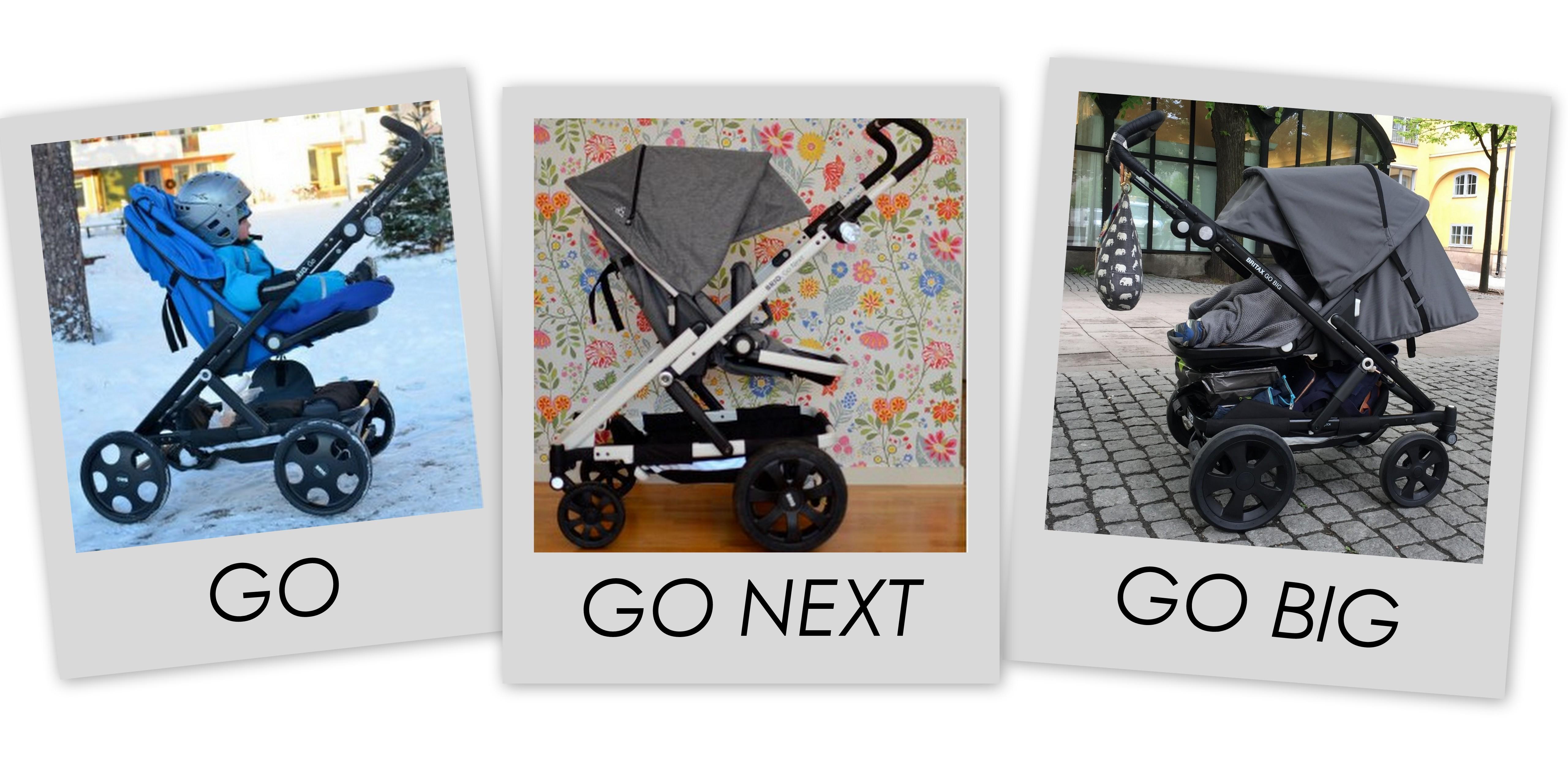 Go-guide - allt om skillnaderna mellan Britax Go, Go Next och Go Big