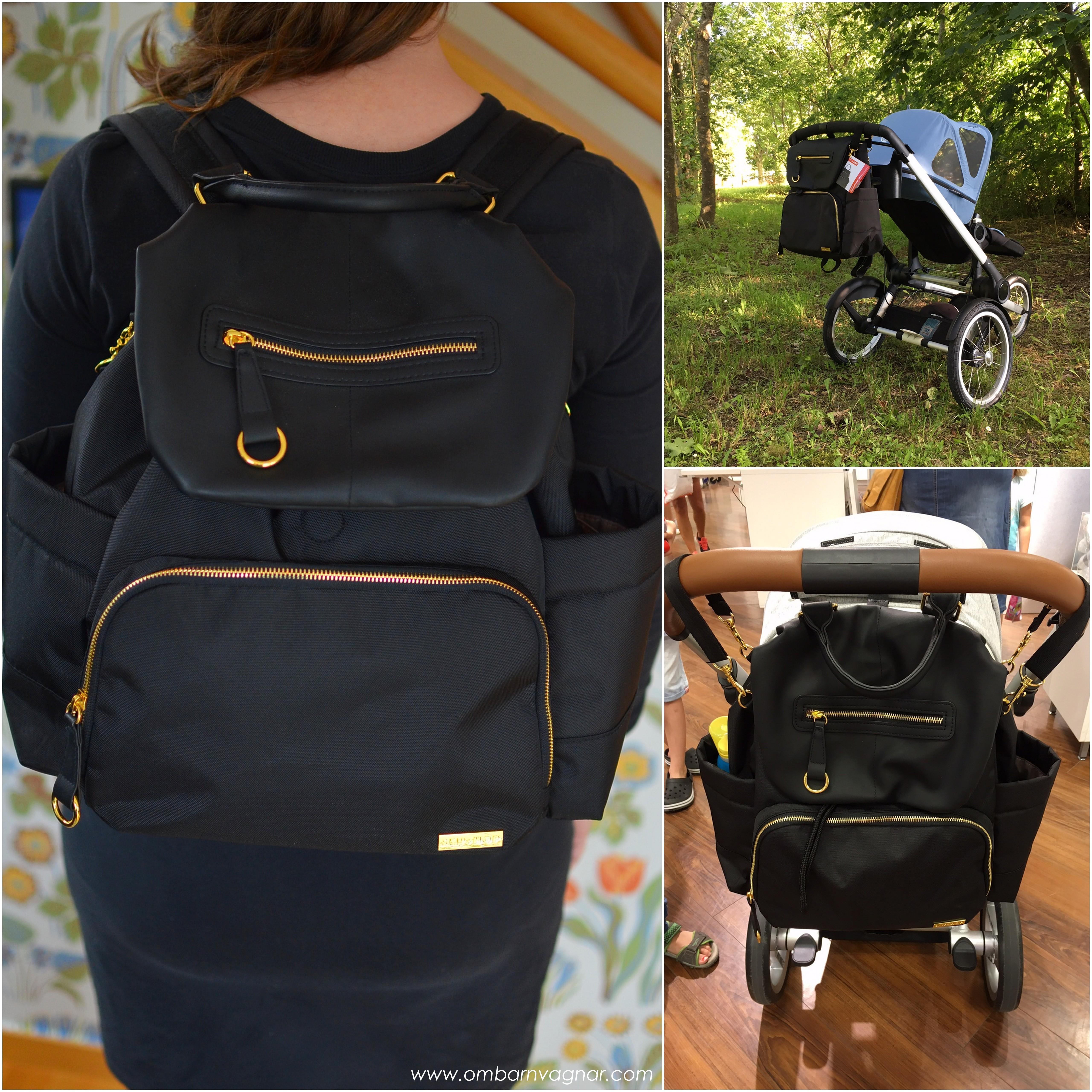 Skip Hop Chelsea Backpack är riktigt bekväm som ryggsäck