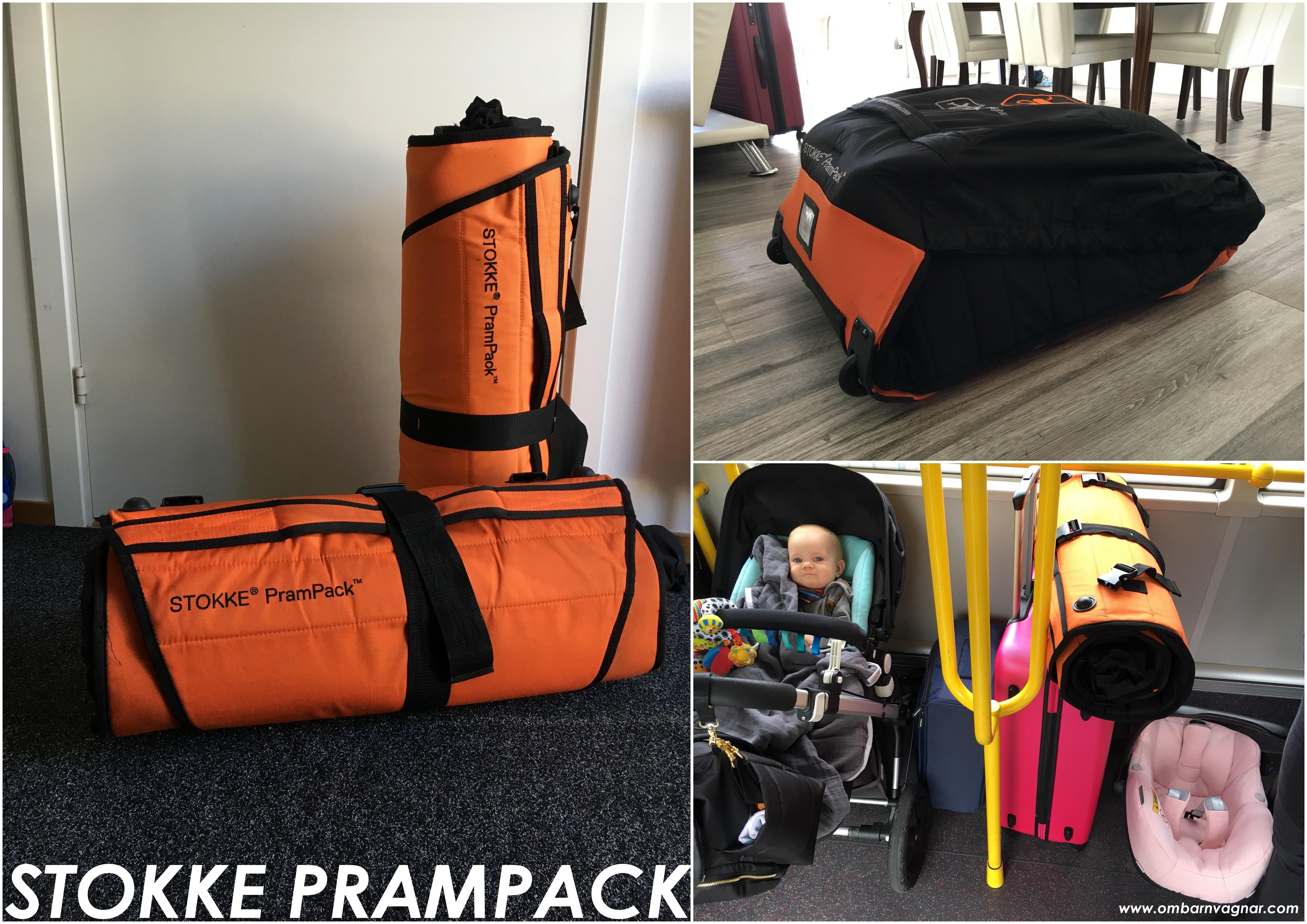 Res med barnvagnen i Stokke PramPack