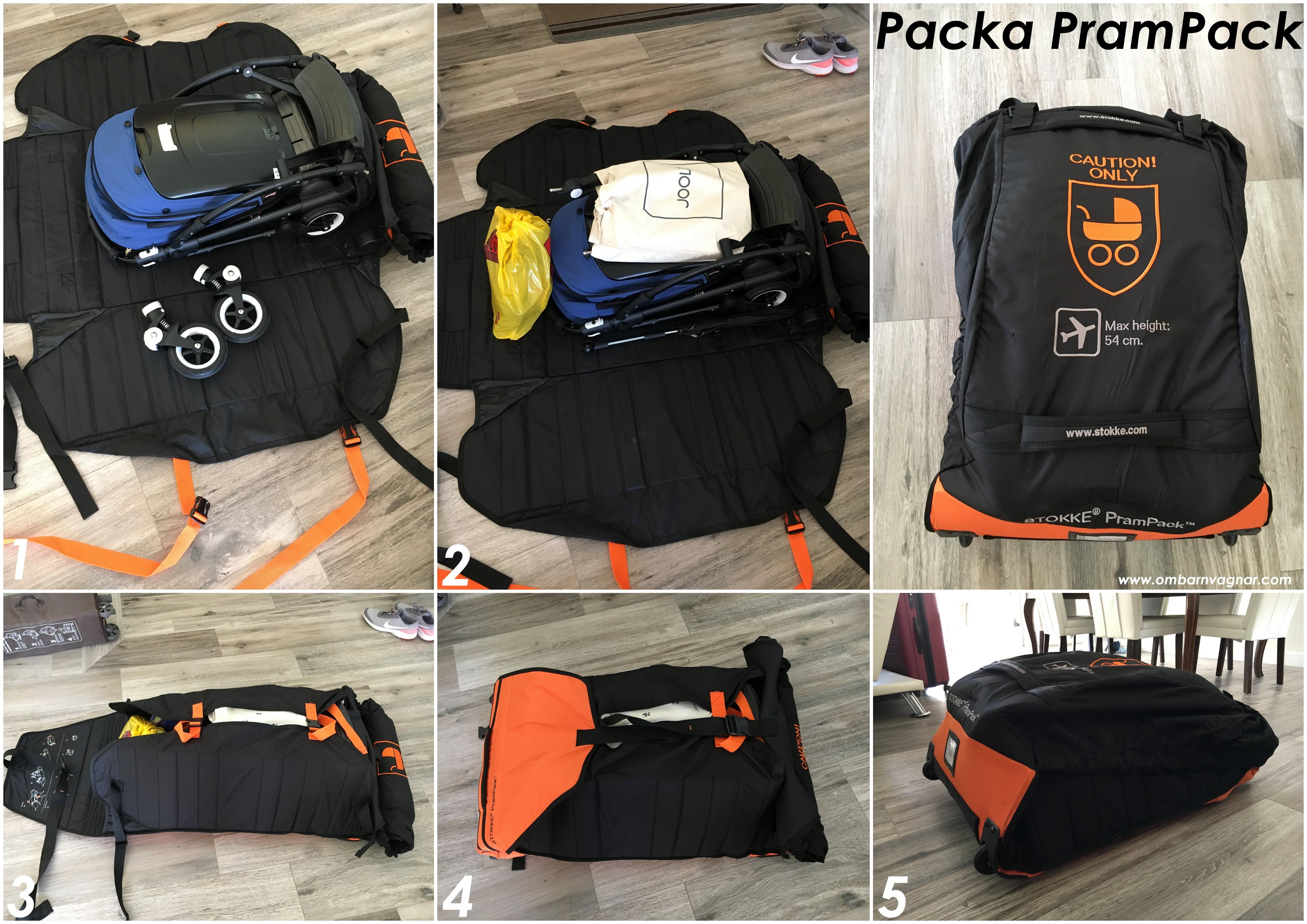 Guide - så packar du vagnen i Stokke PramPack