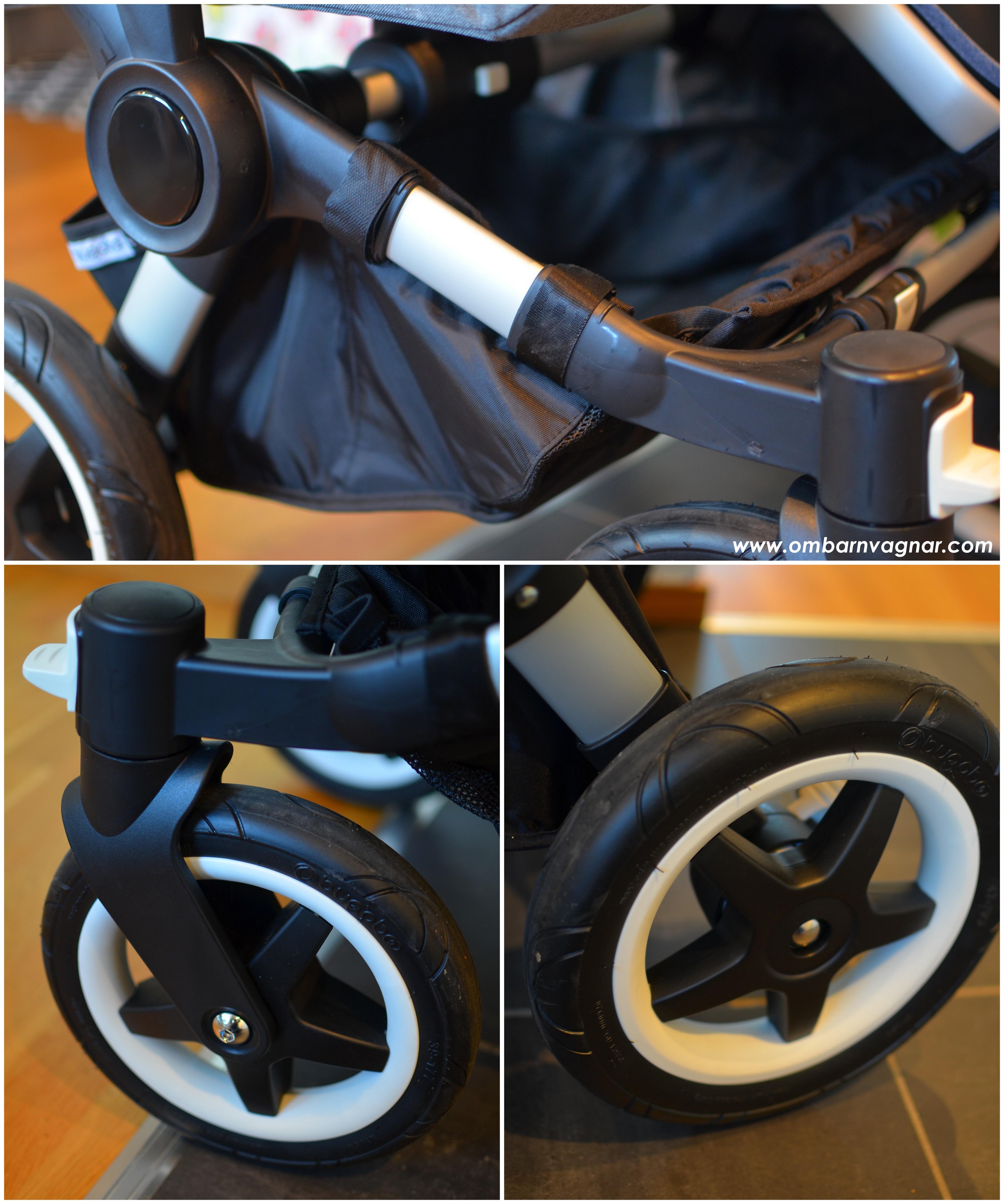 Så har chassi och hjul uppdaterats på Bugaboo Donkey2