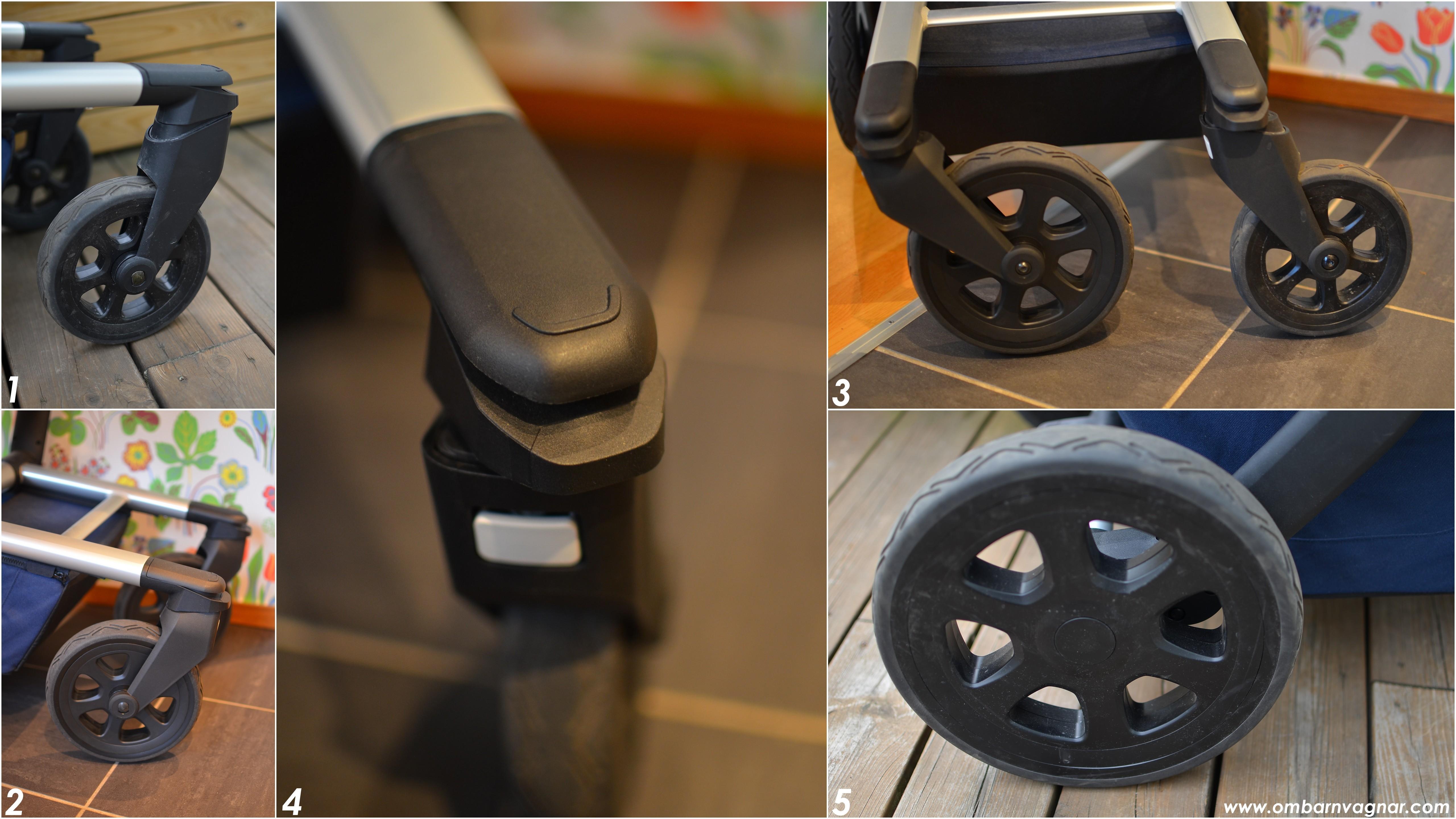 Joolz Day2 har stora vinterhjul