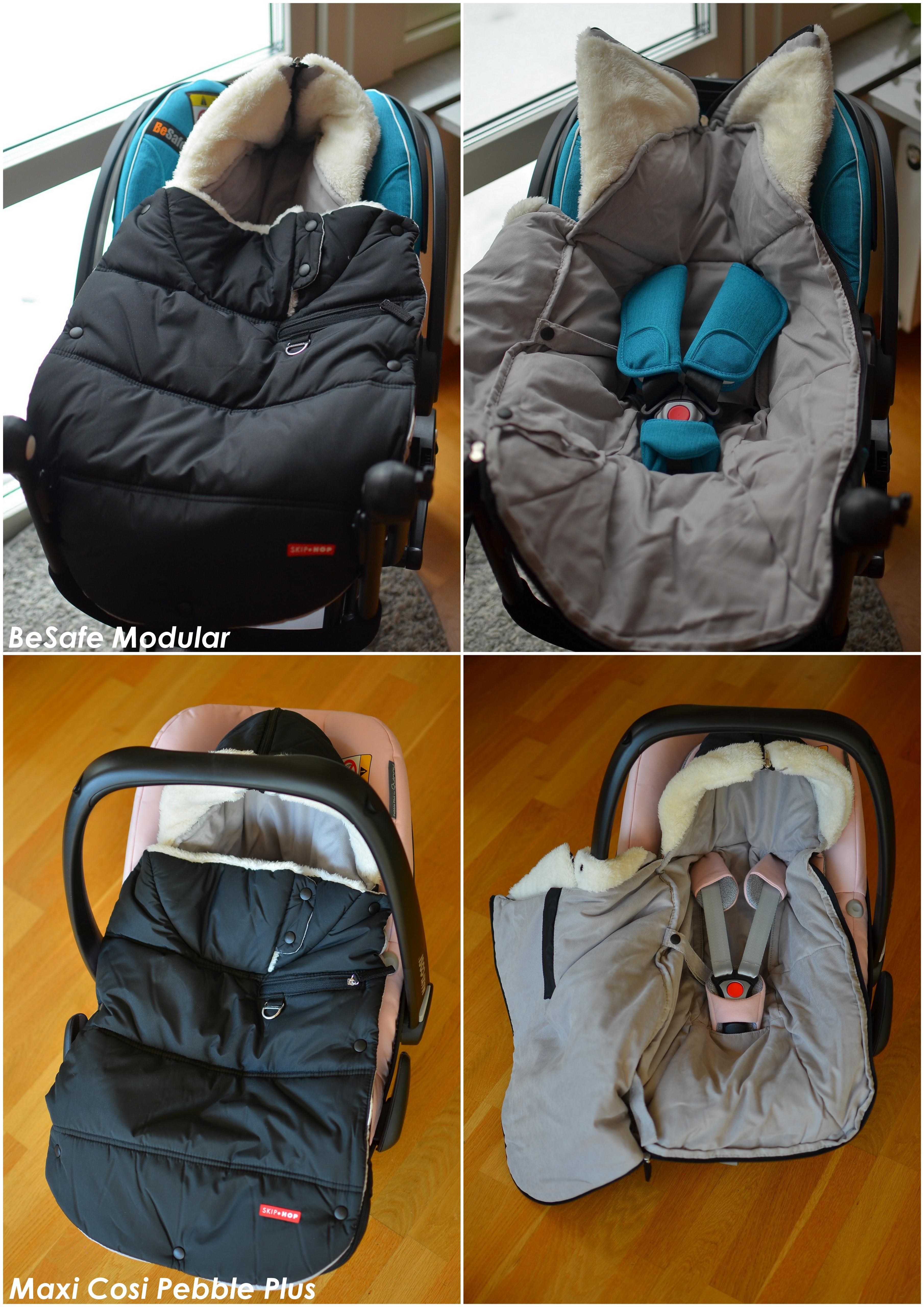 Skip Hop miniåkpåse i babyskyddet