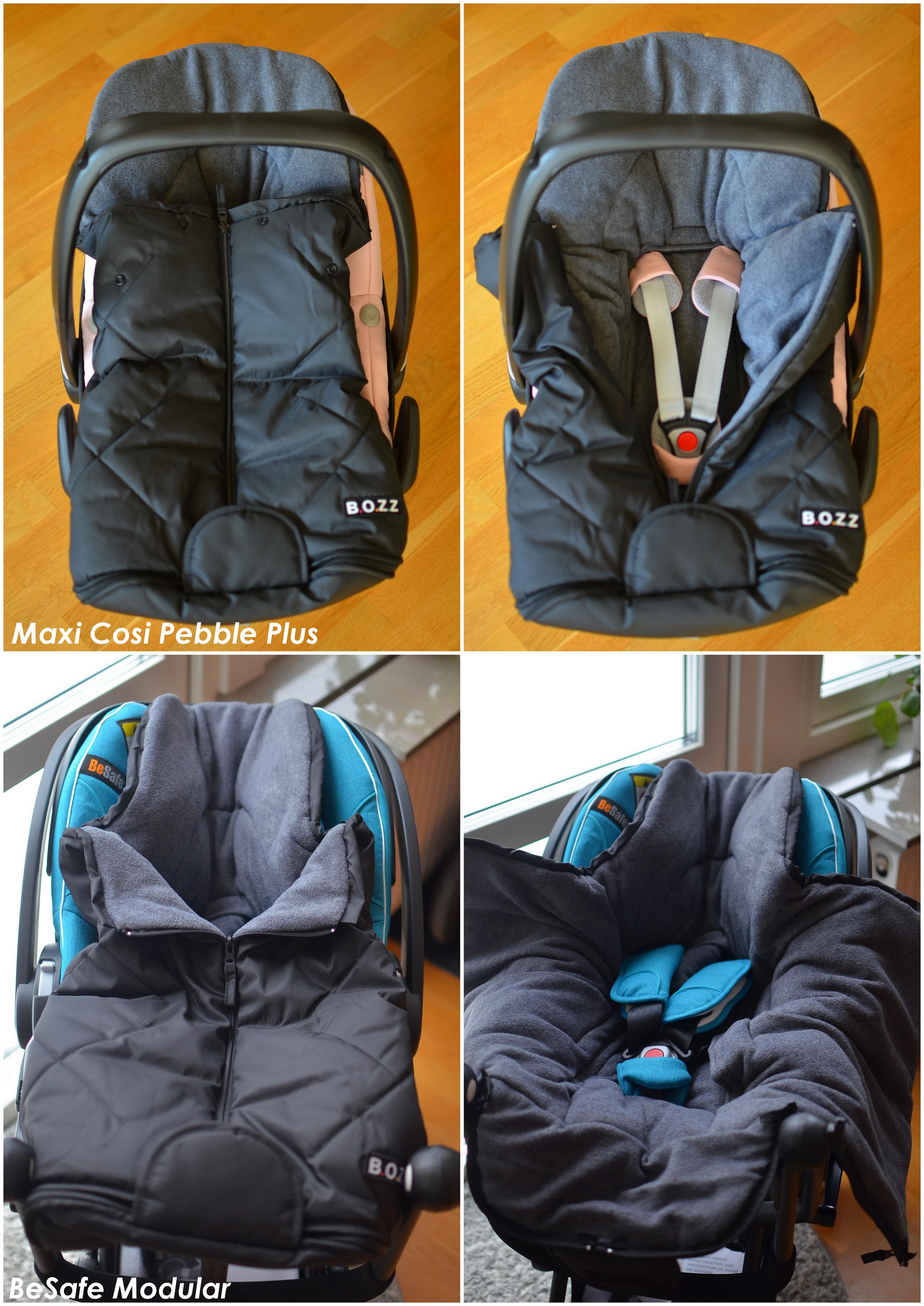 Bozz miniåkpåse i babyskyddet