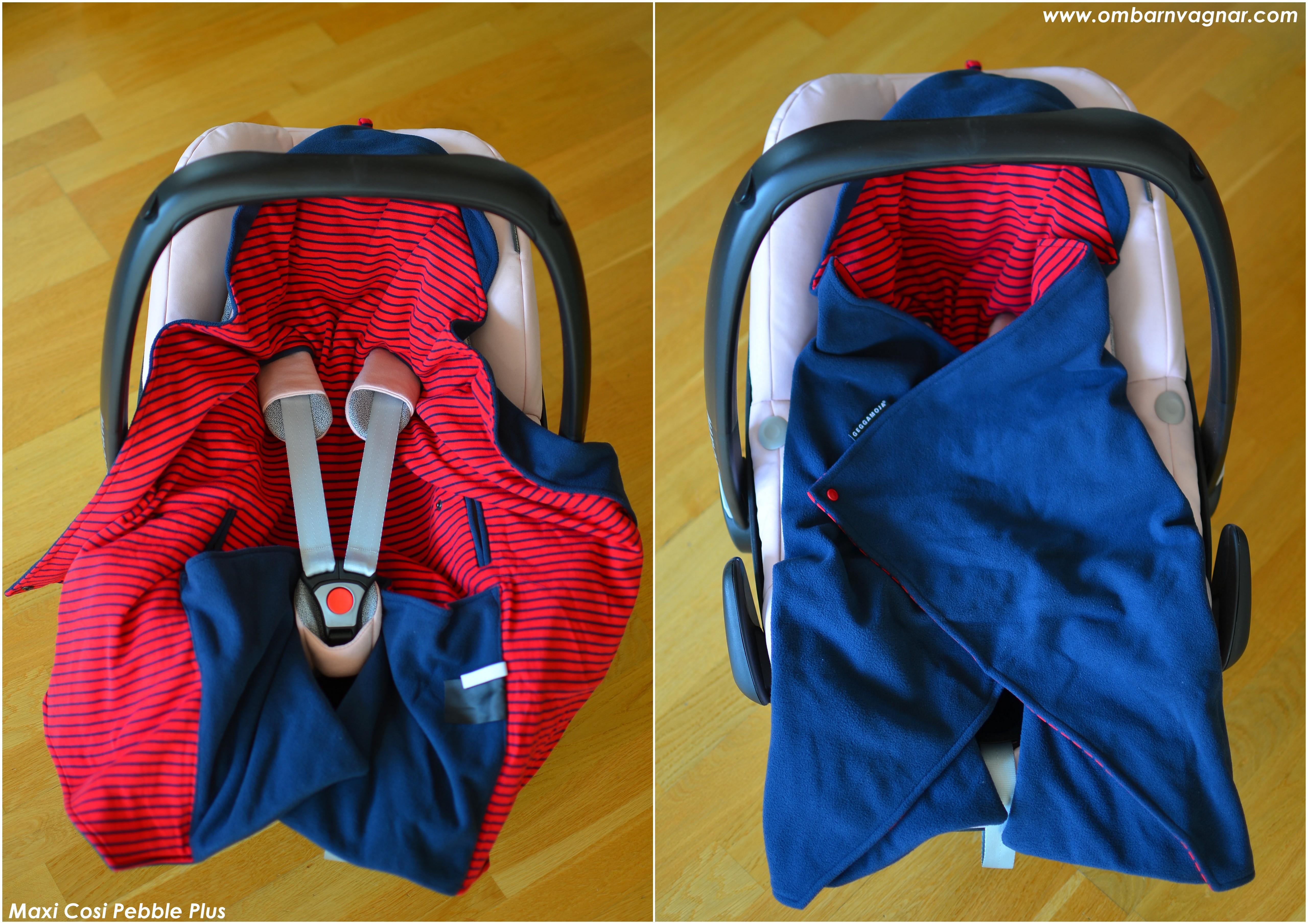 Geggamoja miniåkpåse i babyskyddet