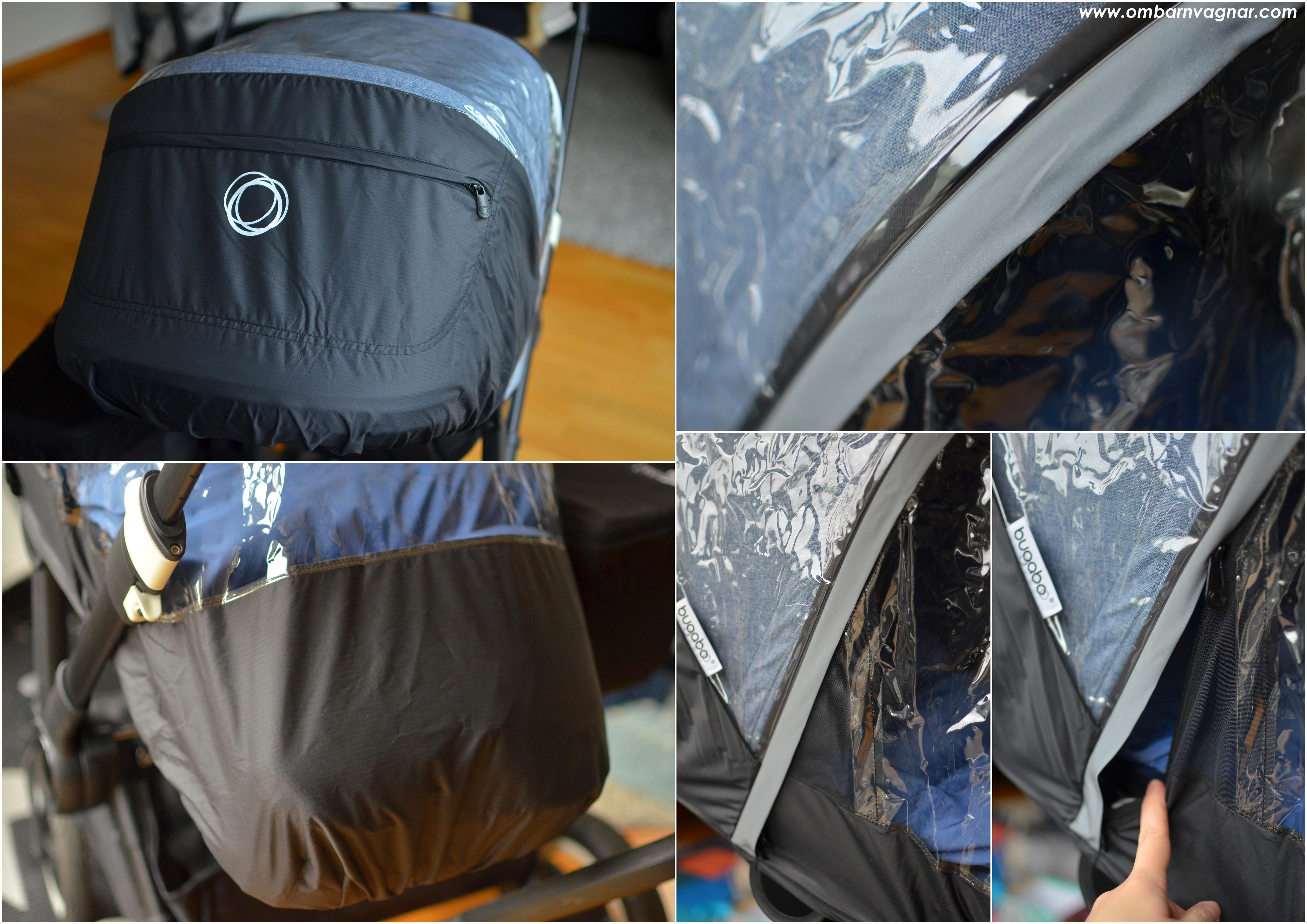 Så funkar Bugaboo High Performance regnskyddet på barnvagnen