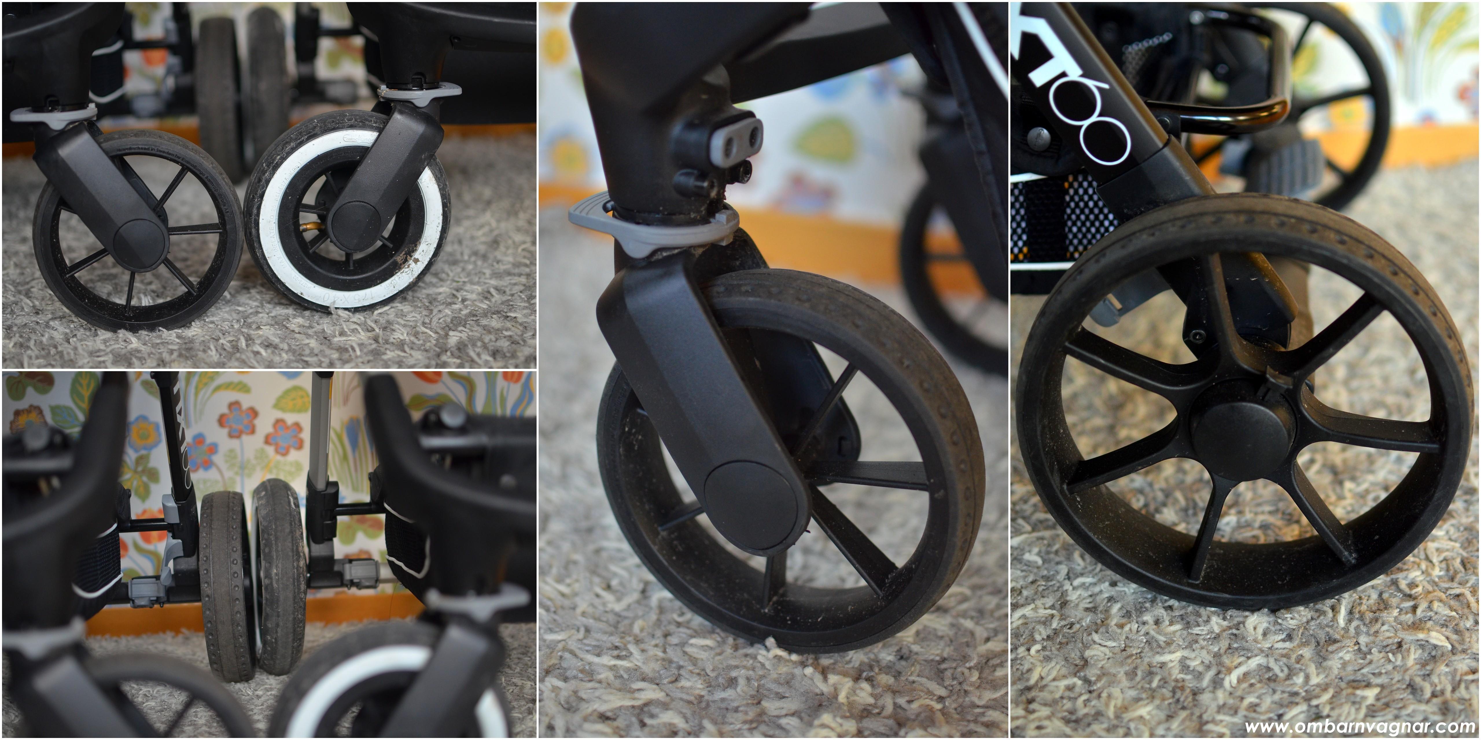 NXT60 med lufthjul och med punkteringsfria däck