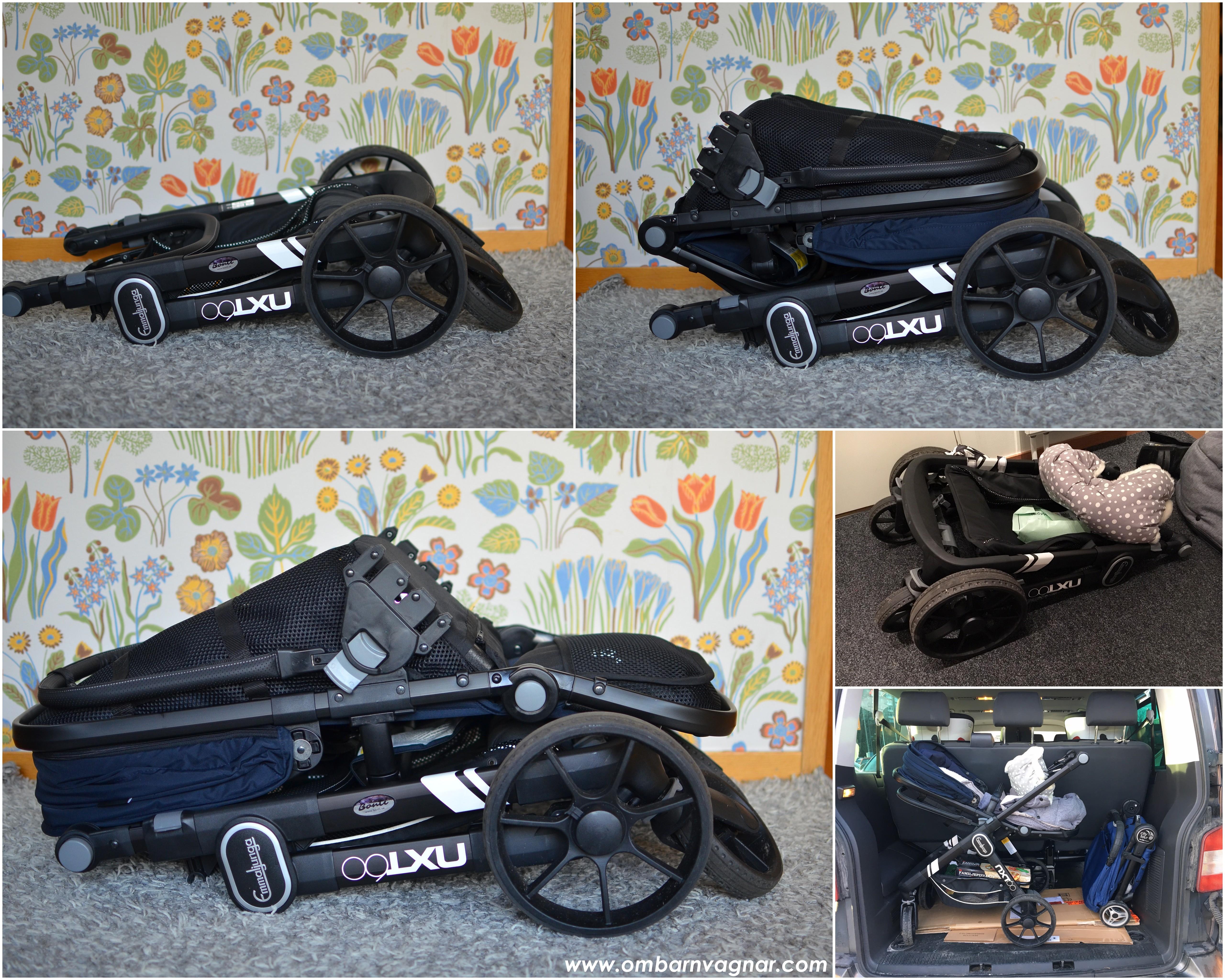 NXT60 blir kompakt när den packas in i bilen