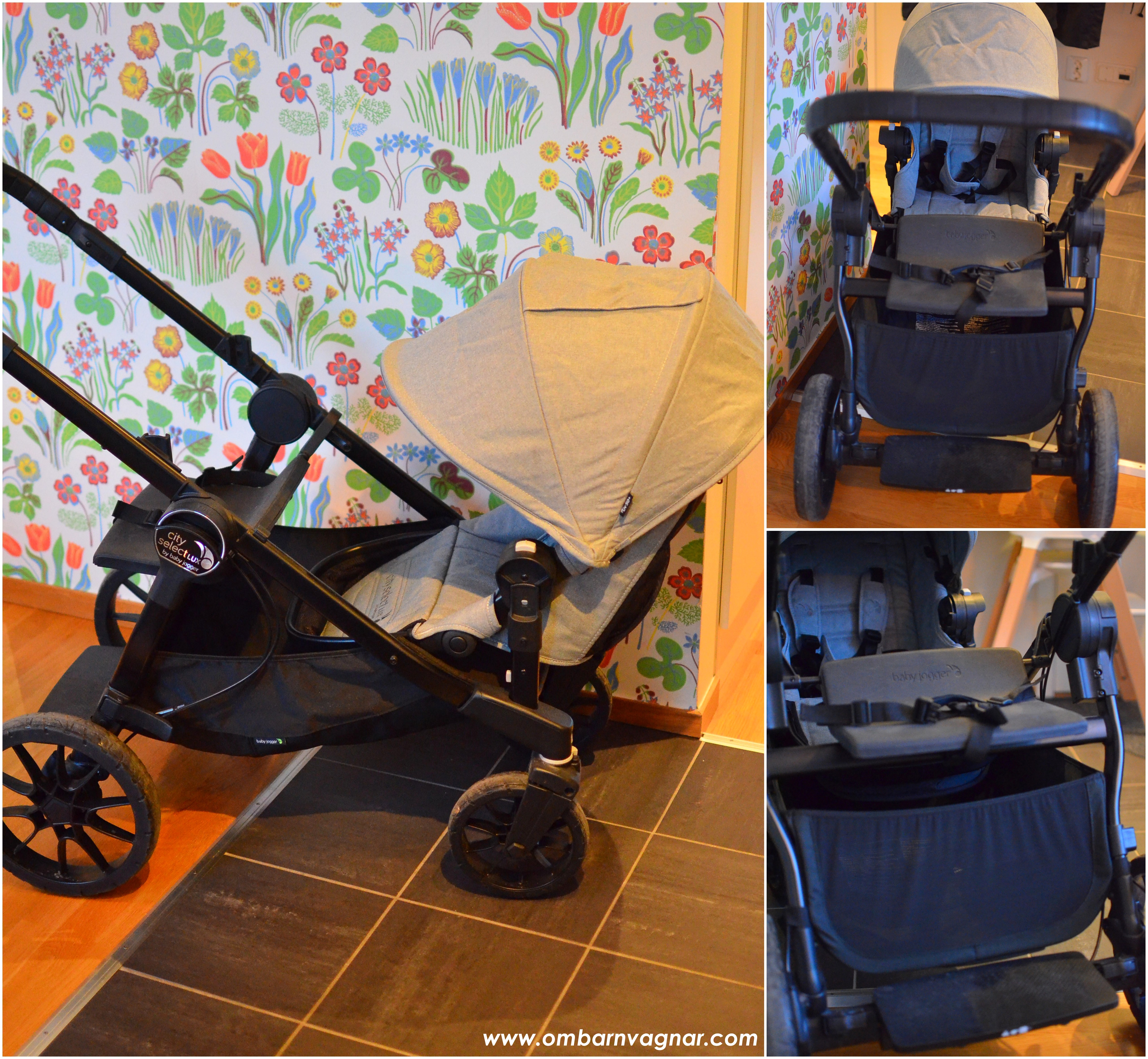 Baby Jogger City Select Lux med JUMP SEAT