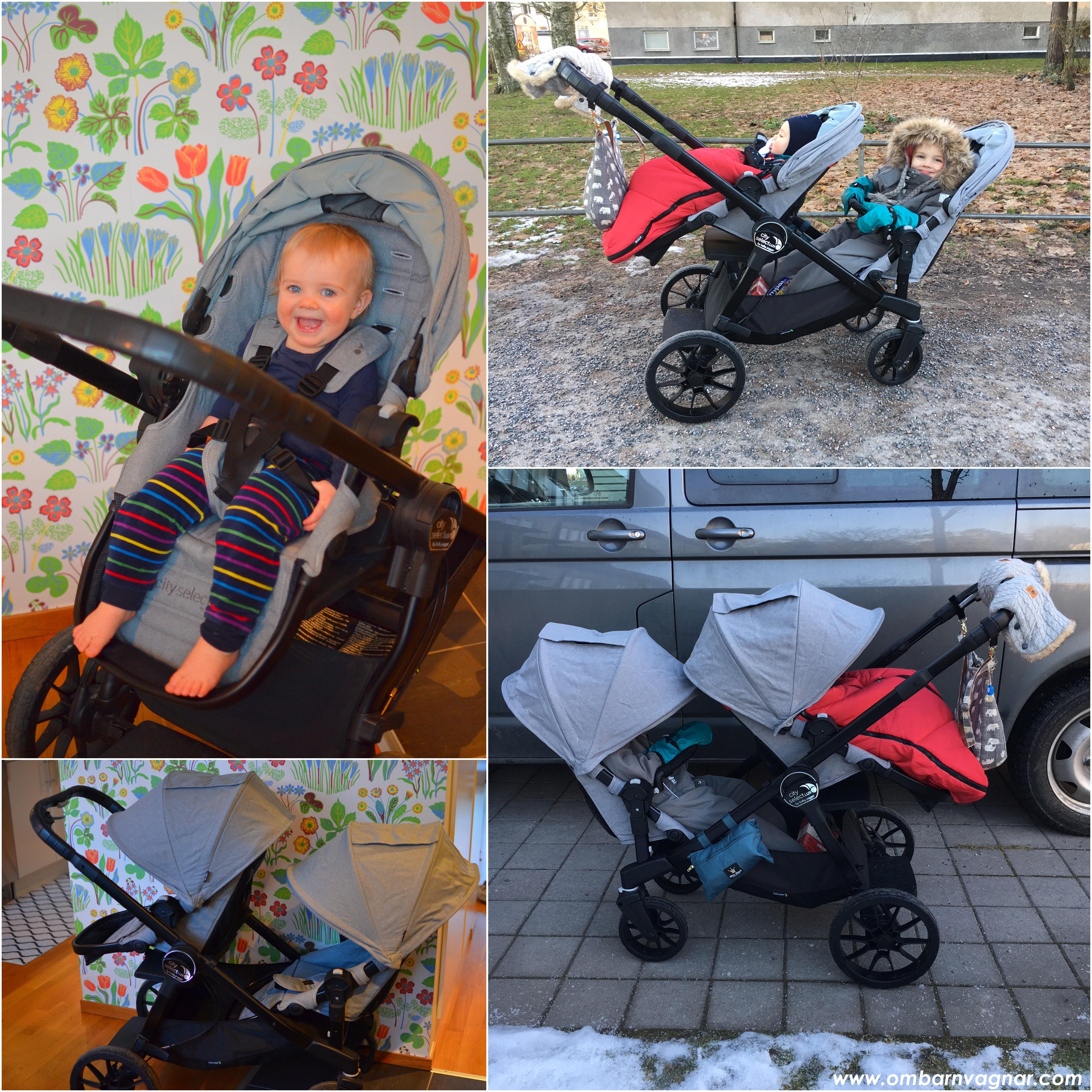 Så funkar Baby Jogger City Select Lux som syskonvagn