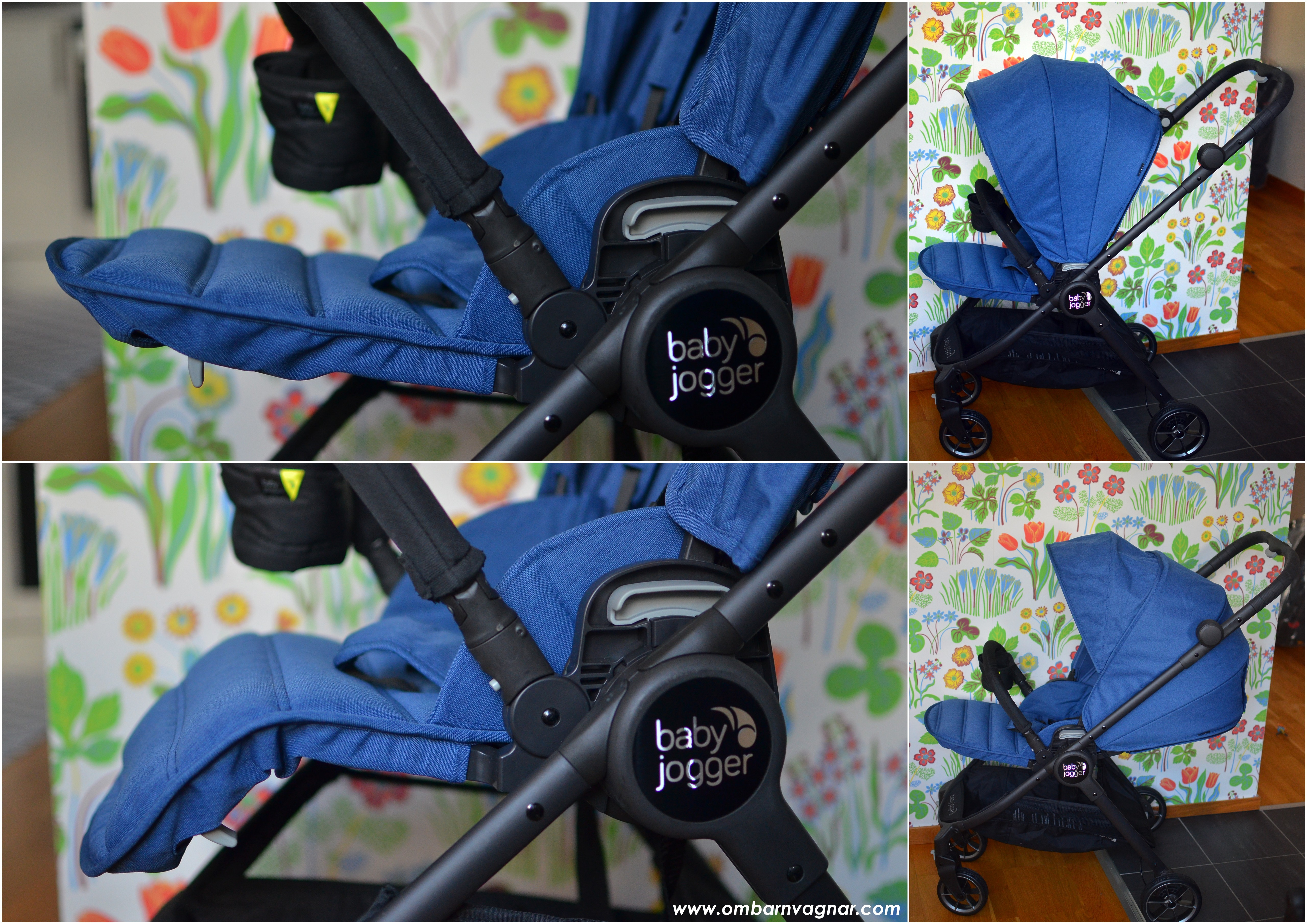 Baby Jogger City Tour Lux med ställbart fotstöd
