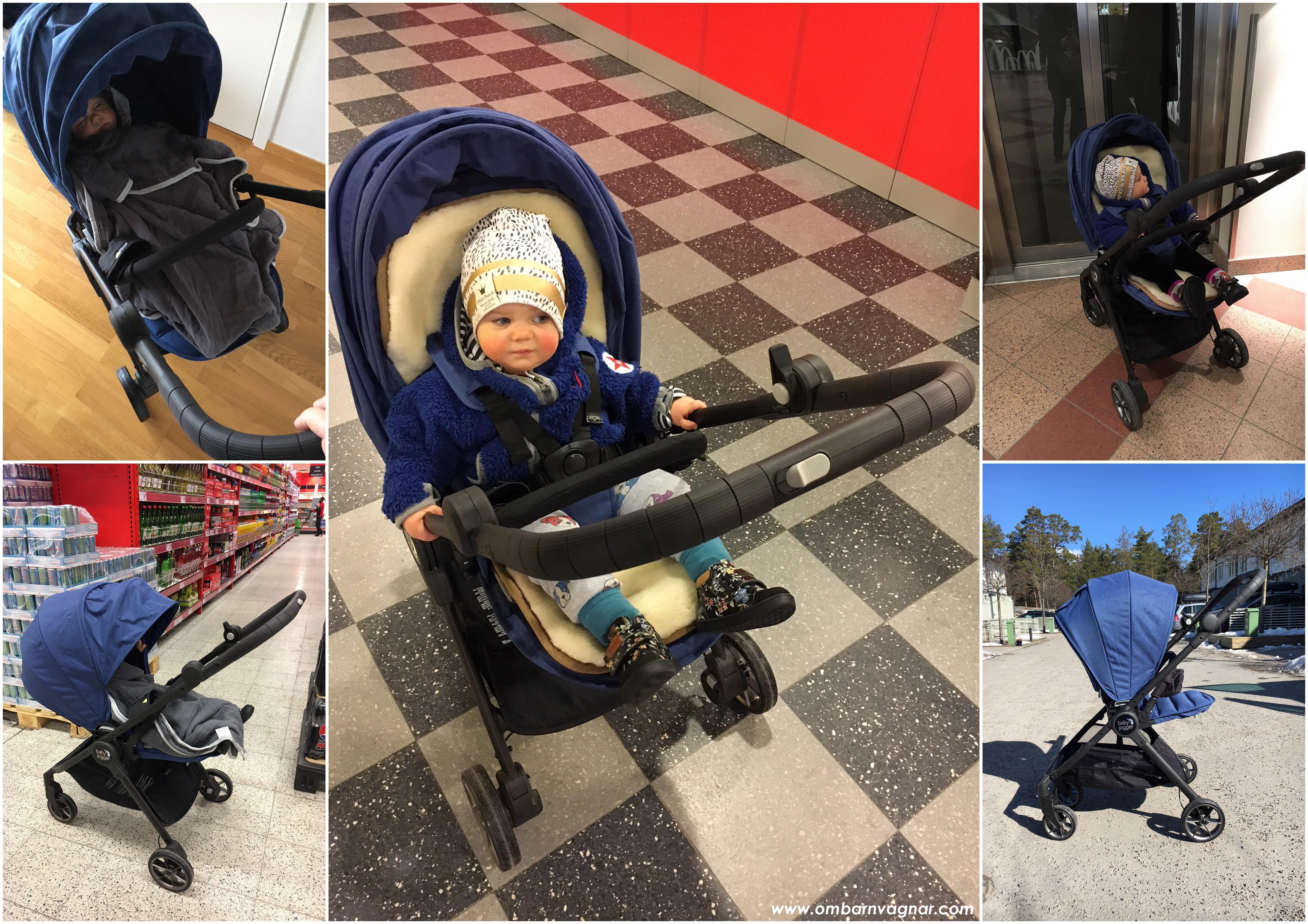 Baby Jogger City Tour Lux körkänsla och användning i vardagen