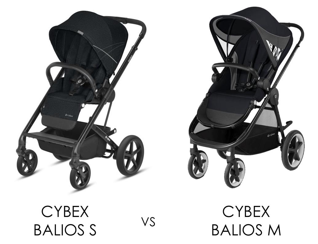 Cybex Balios S jämfört med Cybex Balios M