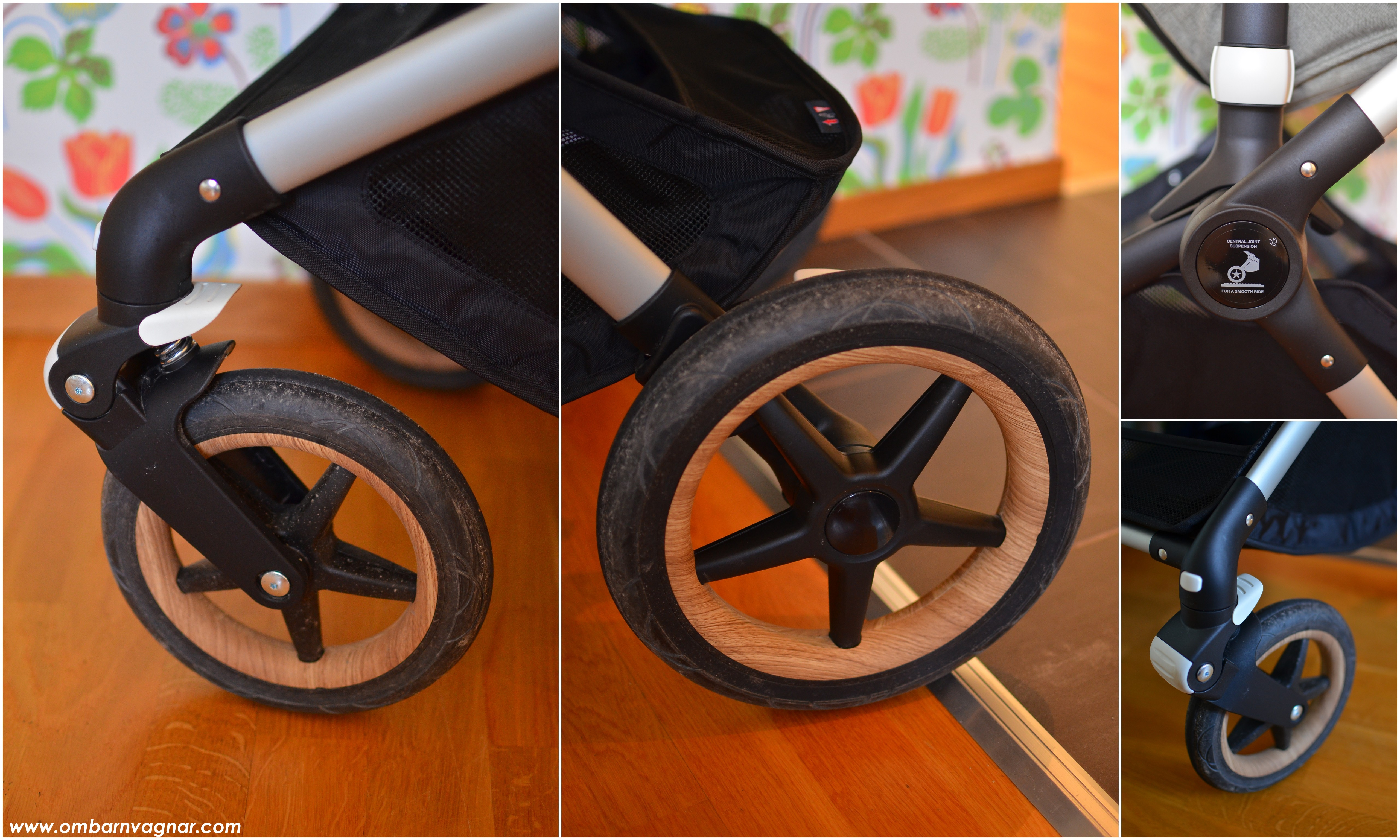 Bugaboo Fox punkteringsfria skumfyllda däck