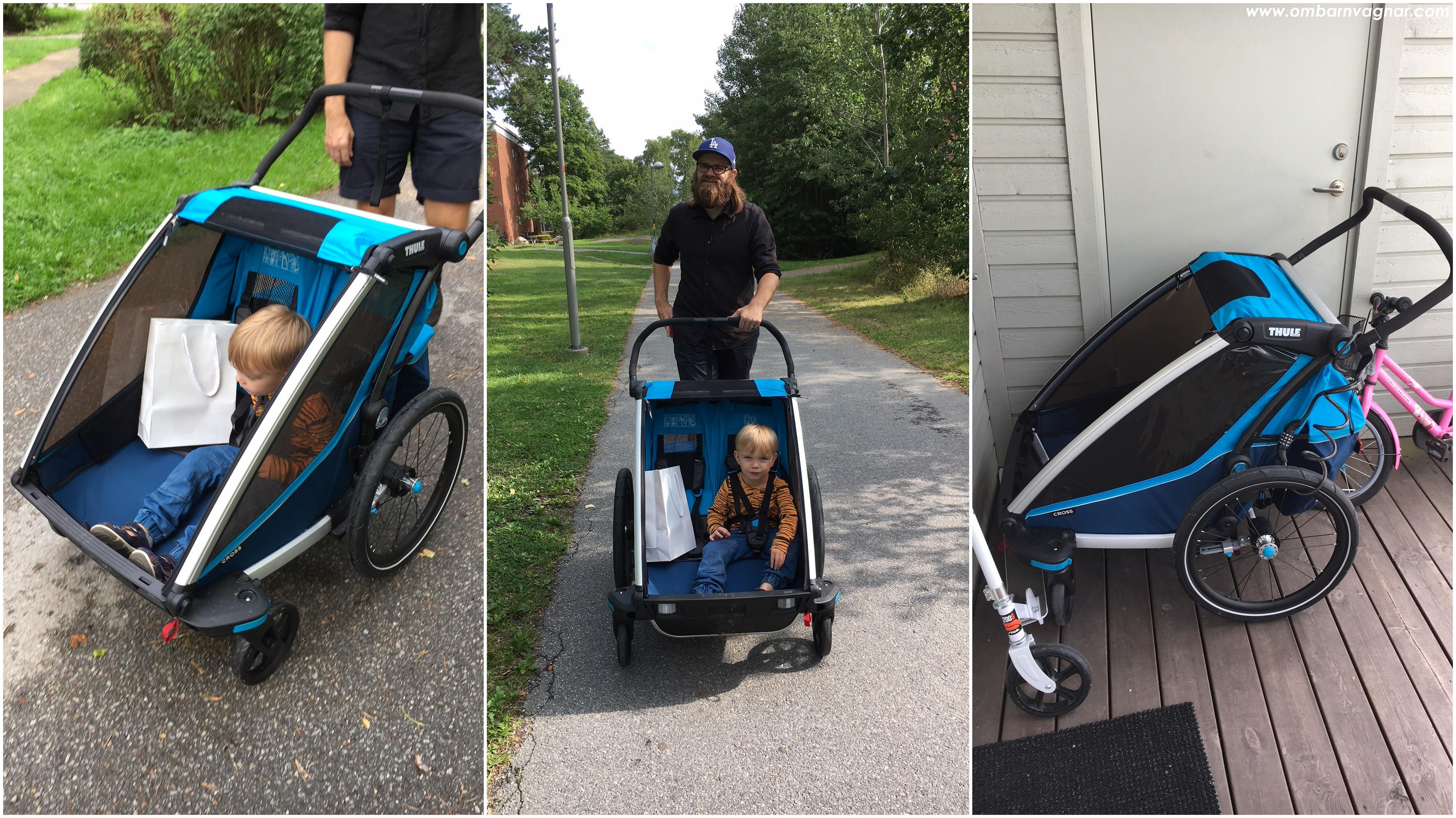 Thule Chariot Cross 2 som barnvagn för promenader
