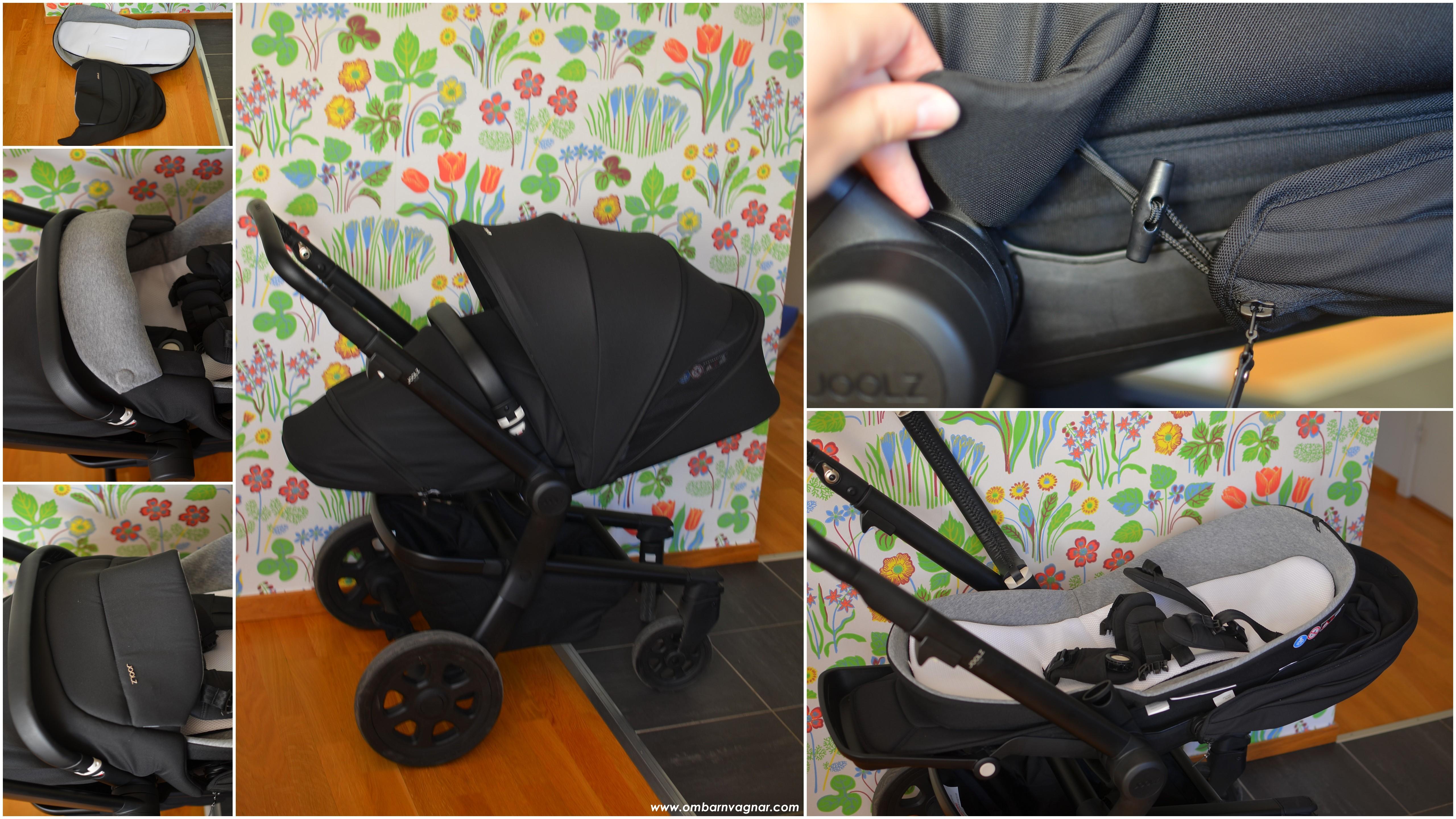 Joolz Hub med Cocoon för nyfödd i sittdelen