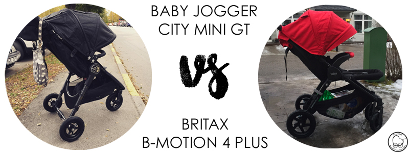 Baby Jogger City Mini GT eller Britax B-Motion 4 Plus?