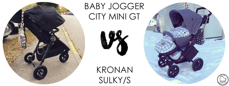 Baby Jogger City Mini GT eller Kronan Sulky/S?
