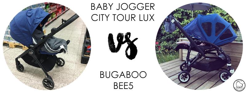 Baby Jogger City Tour Lux eller Bugaboo Bee5?