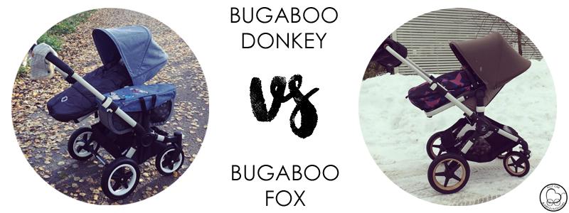 Bugaboo Donkey2 eller Bugaboo Fox?