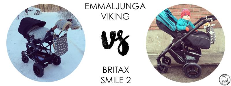 Emmaljunga Viking eller Britax Smile 2?