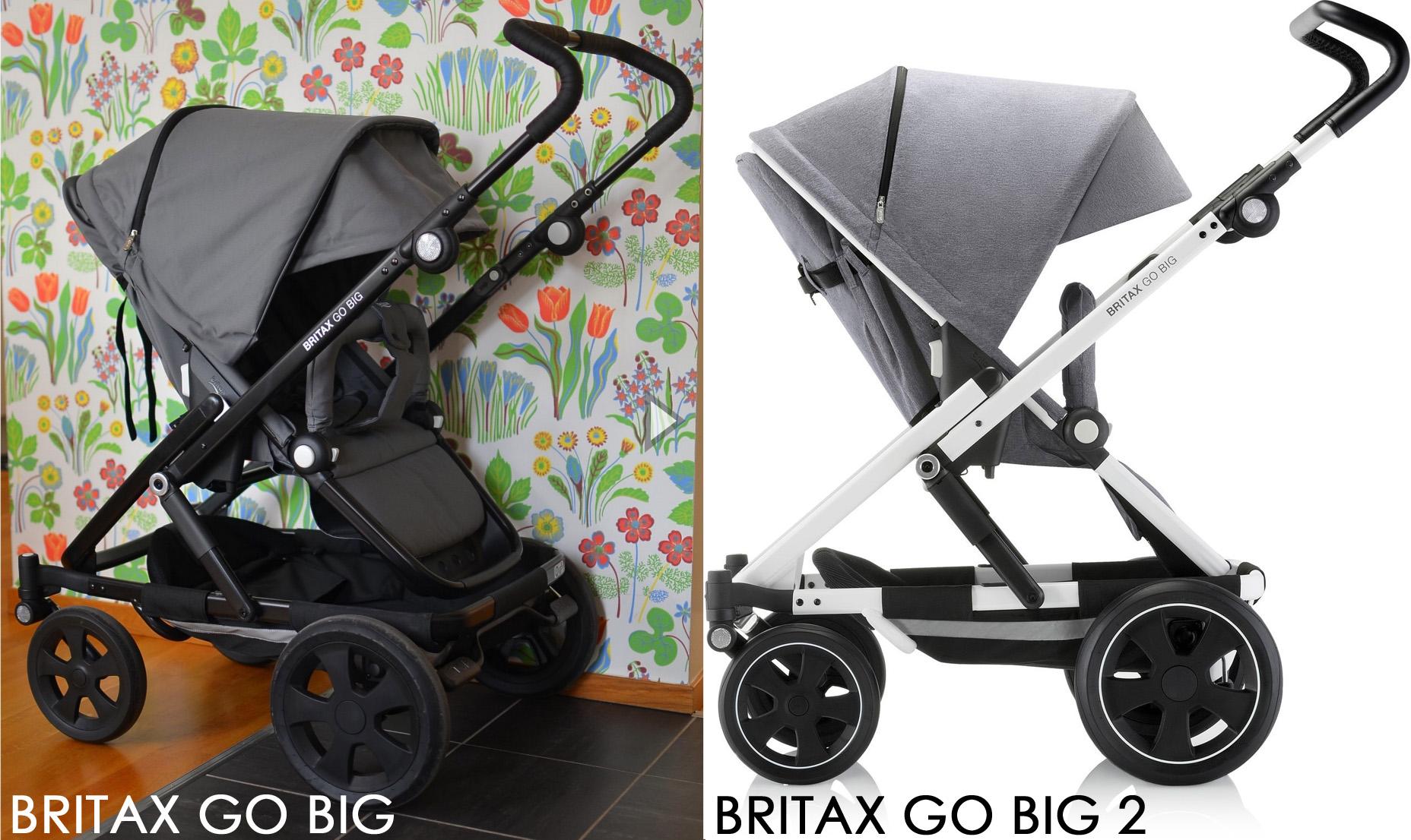 Skillnaderna mellan Britax Go Big och Britax Go Big 2