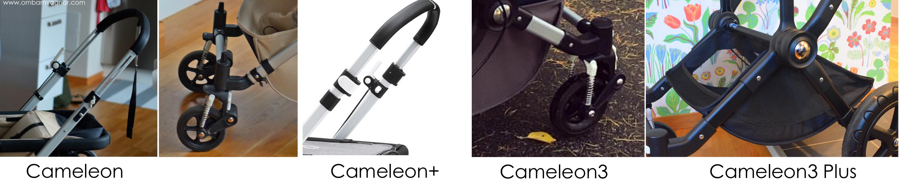 Så ser man vilken Bugaboo Cameleon man har