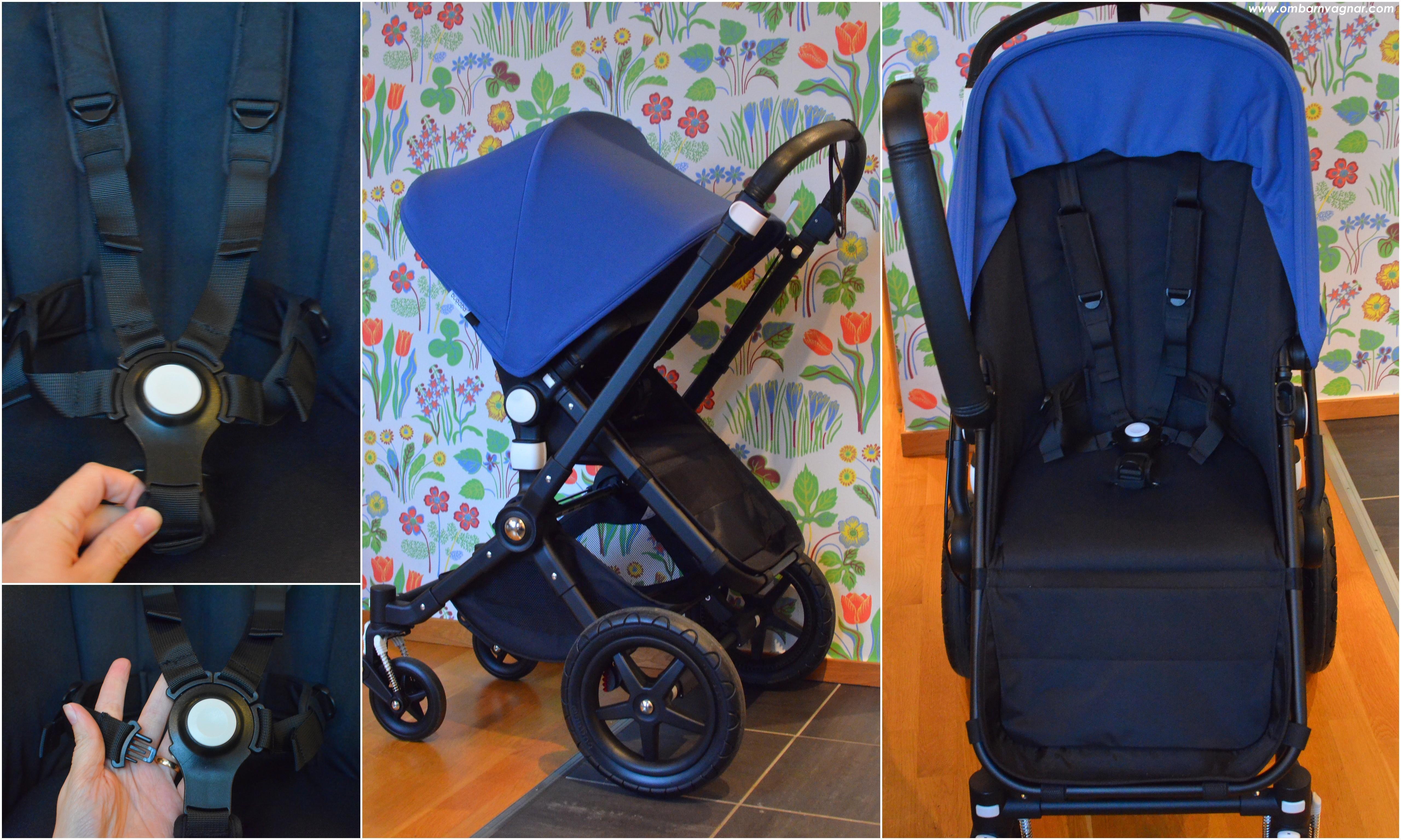 Bugaboo Cameleon3 Plus har ergonomisk sittdel och en smart sele med separata remmar