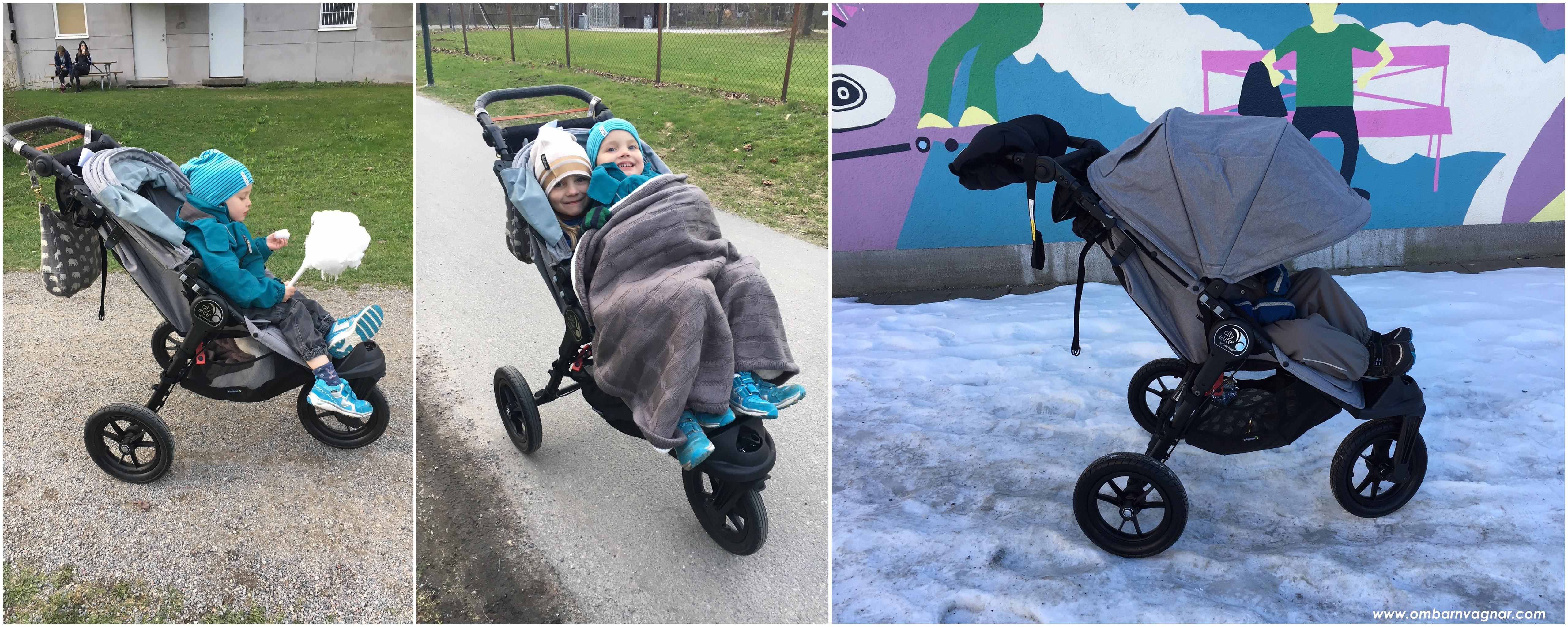 Baby Jogger City Elite körkänsla och användning