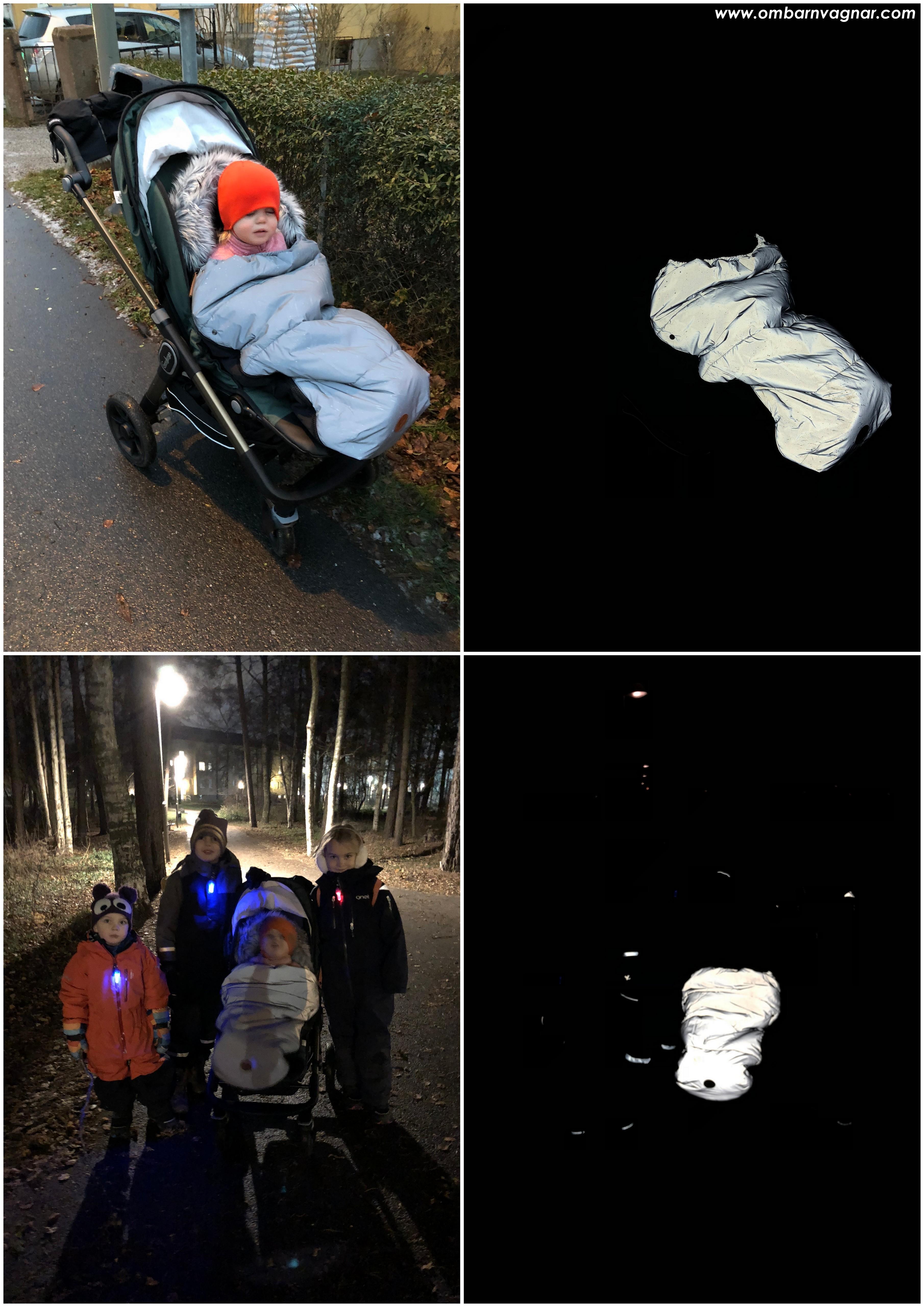 Angel of Sweden Tärnaby Reflexåkpåse reflexförmåga när det är mörkt