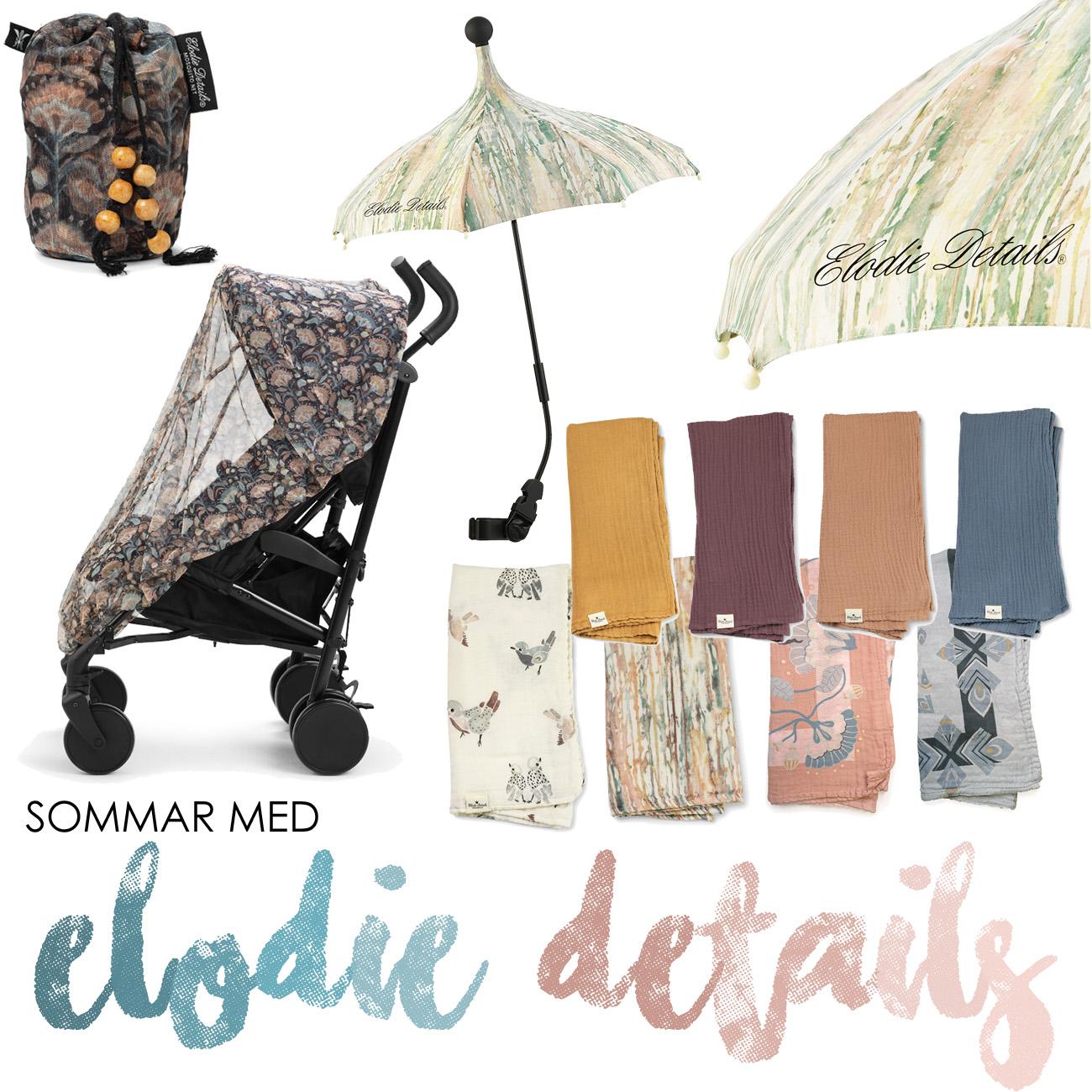 Elodie Details vårnyheter 2019 sommarnyheter insektsnät myggnät parasoll muslinfiltar bambufilt
