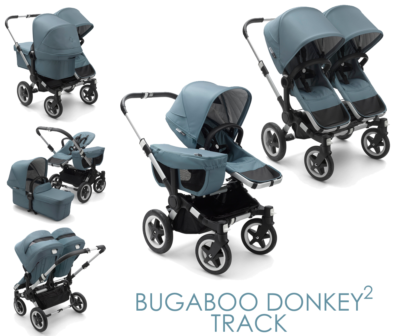 Bugaboo Donkey2 Track Collection