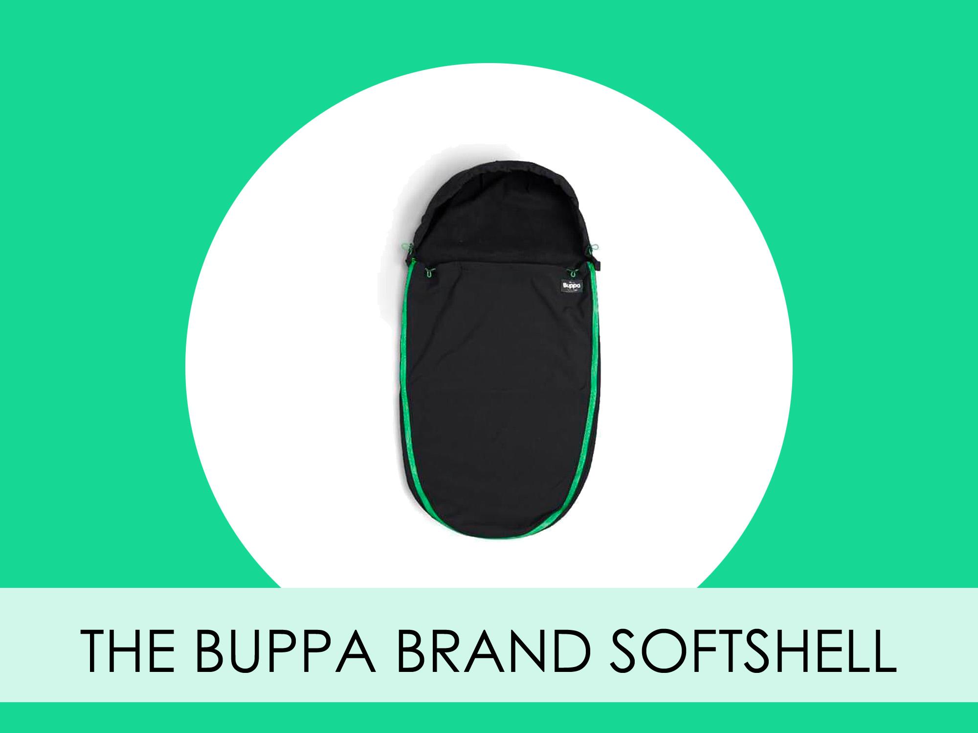 The Buppa Brand Softshell tunn åkpåse för vår och höst 2019