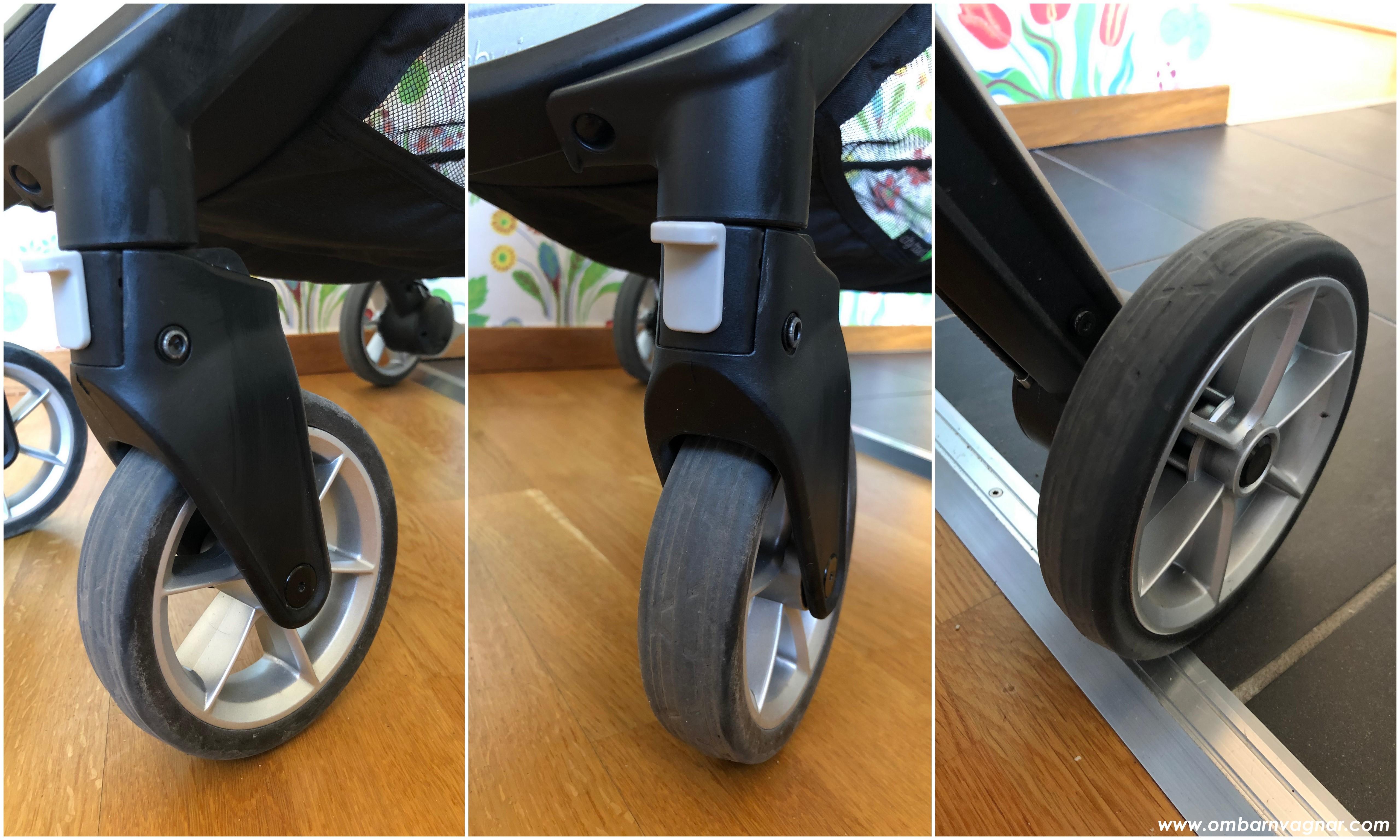 Baby Jogger City Tour 2 hjul som inte äter grus