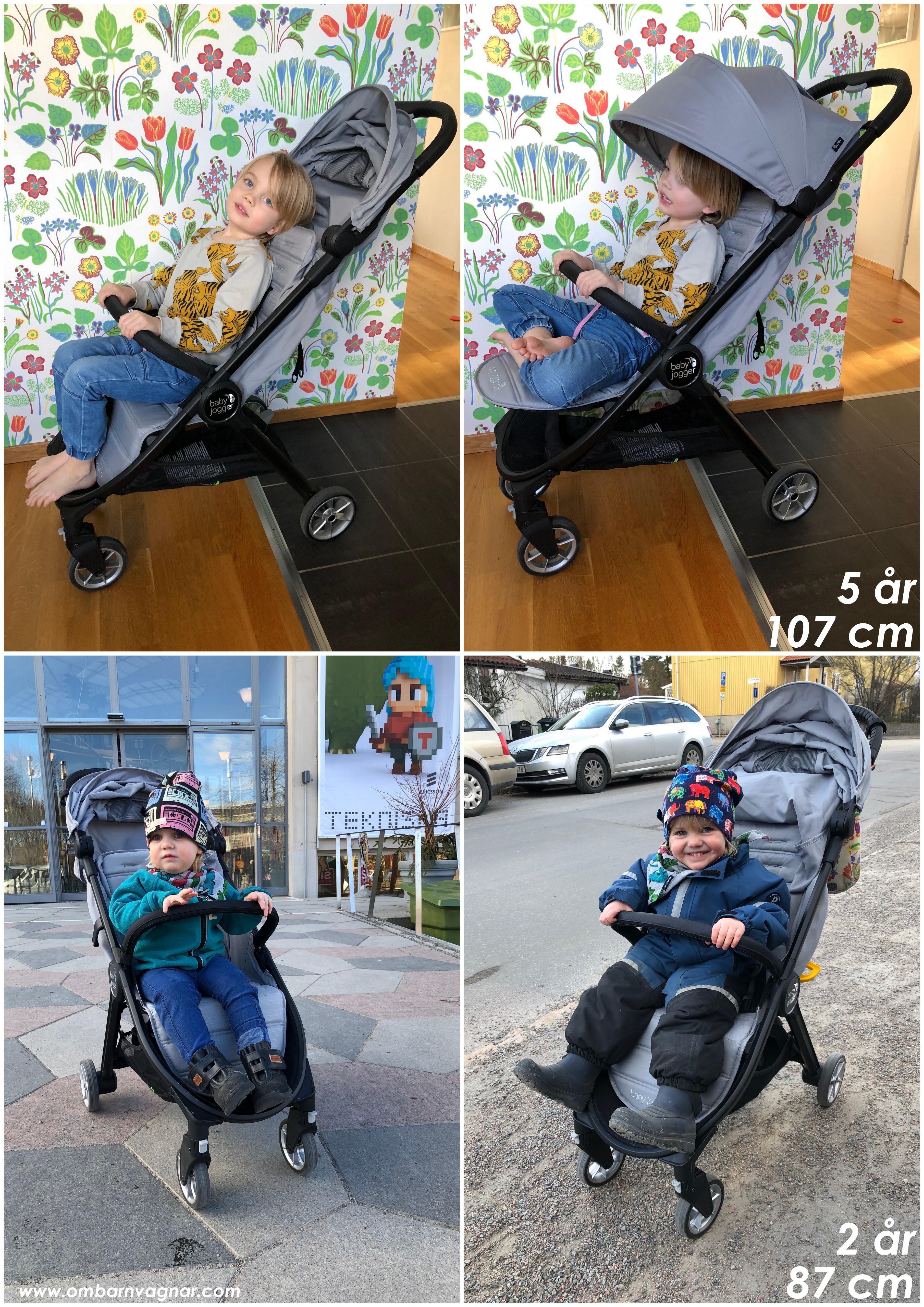 Baby Jogger City Tour 2 utrymme för barnet