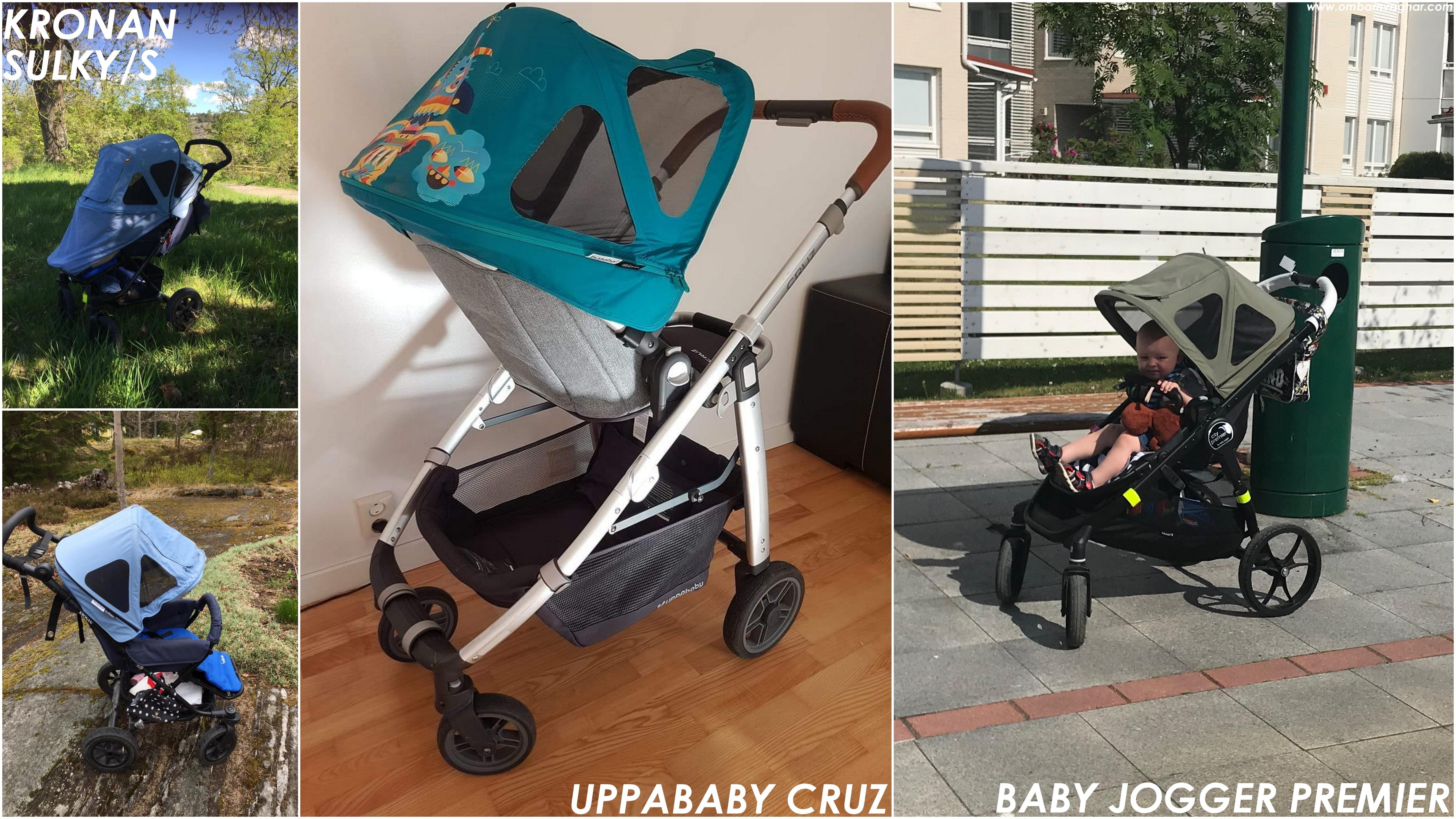 Bugaboo Breezy på Kronan, UPPAbaby och Baby Jogger