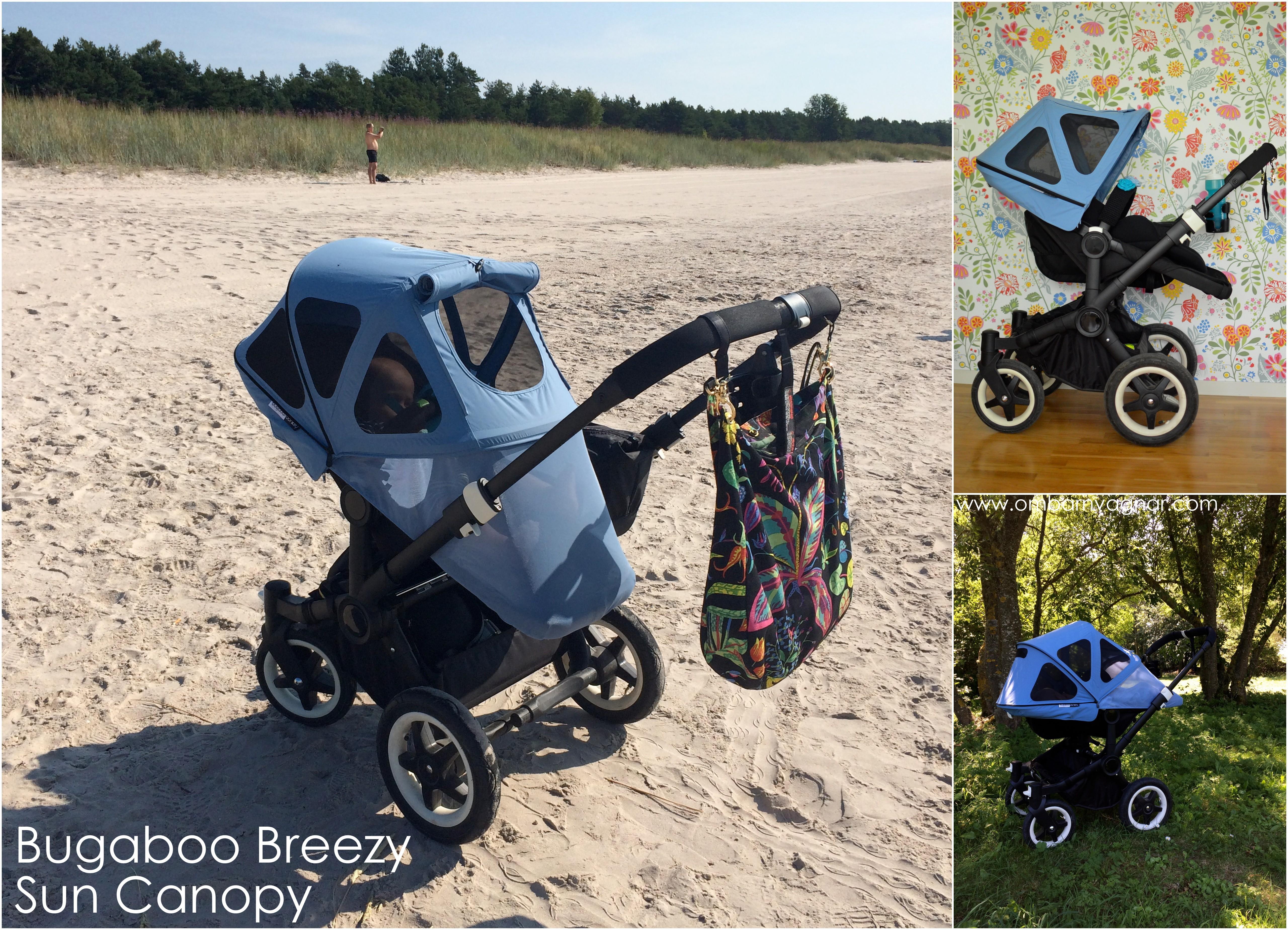 Bugaboo Donkey med Breezy Ice Blue Solsufflett recension