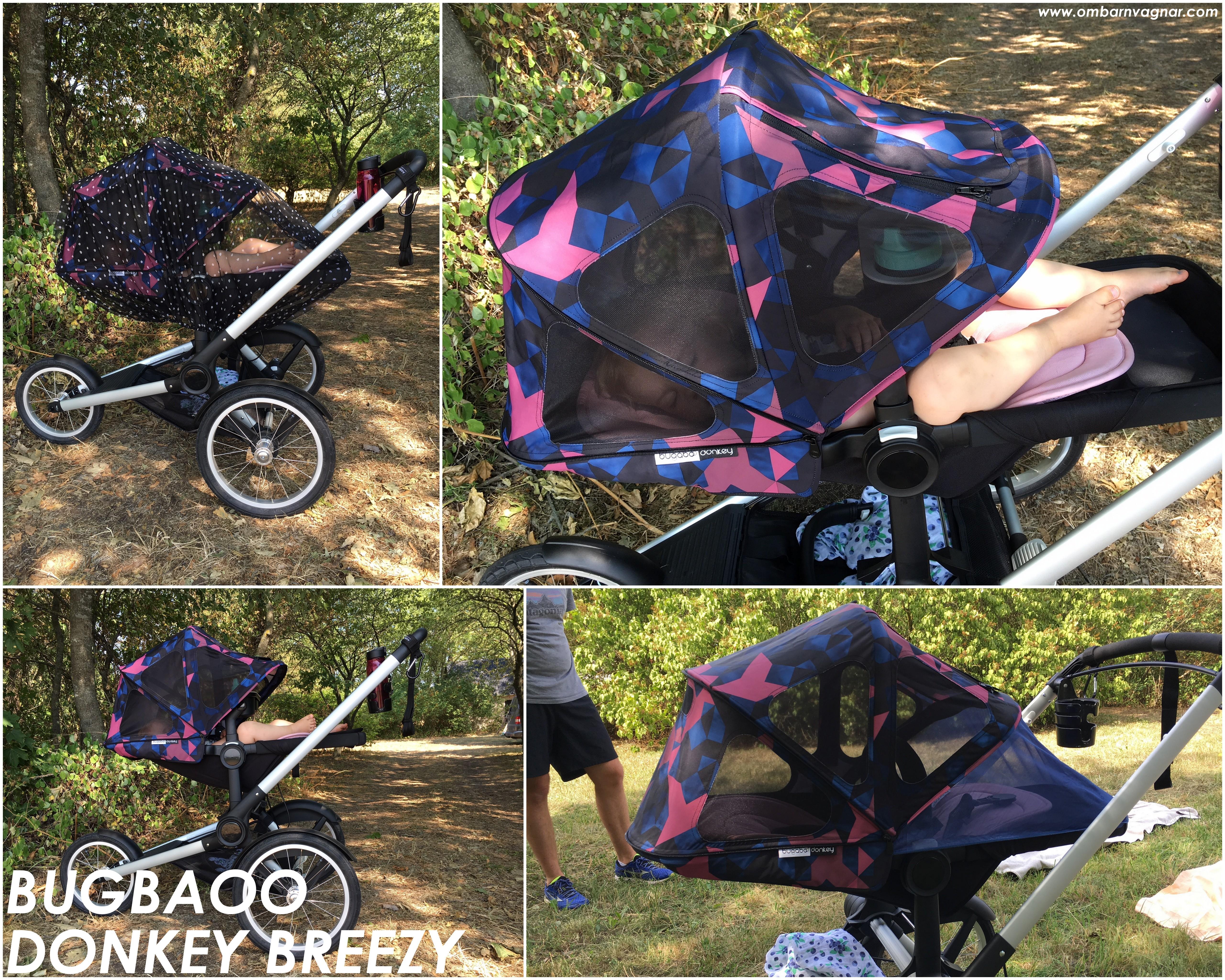 Bugaboo Donkey med Breezy Birds Solsufflett recension