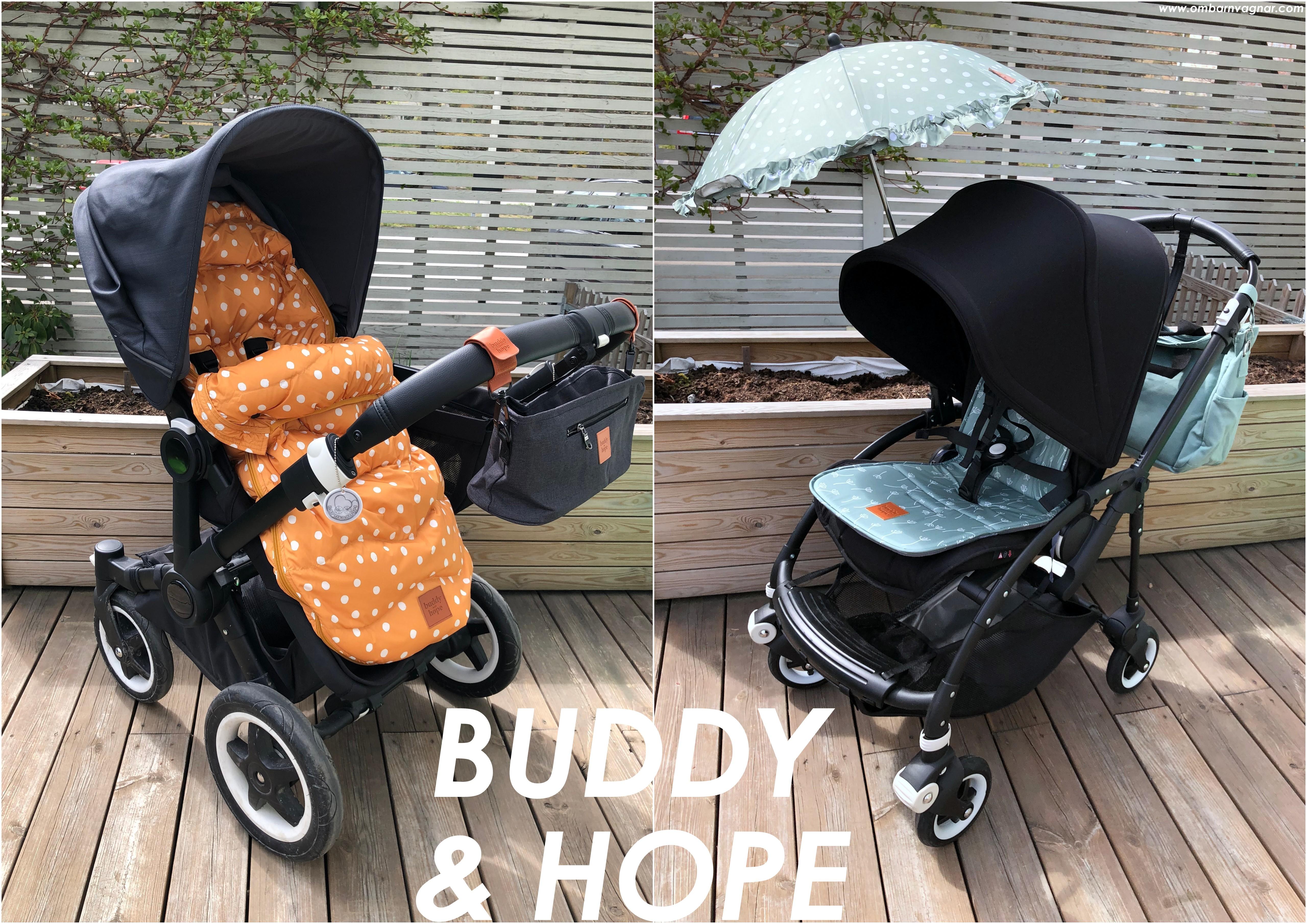 Buddy & Hope barnvagnstillbehör